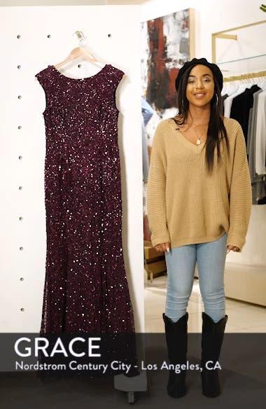 Sequin Evening Dress, sales video thumbnail