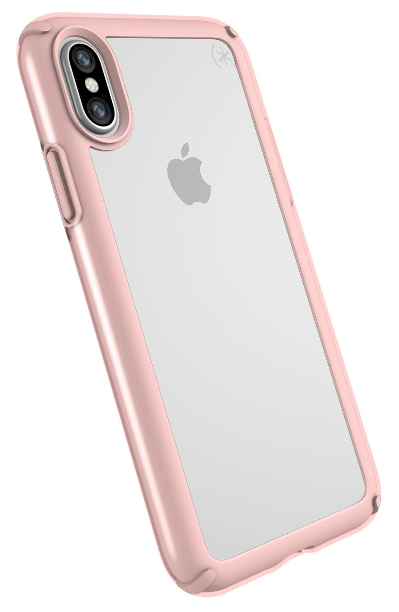 SPECK,                             Transparent iPhone X & Xs Case,                             Alternate thumbnail 8, color,                             710