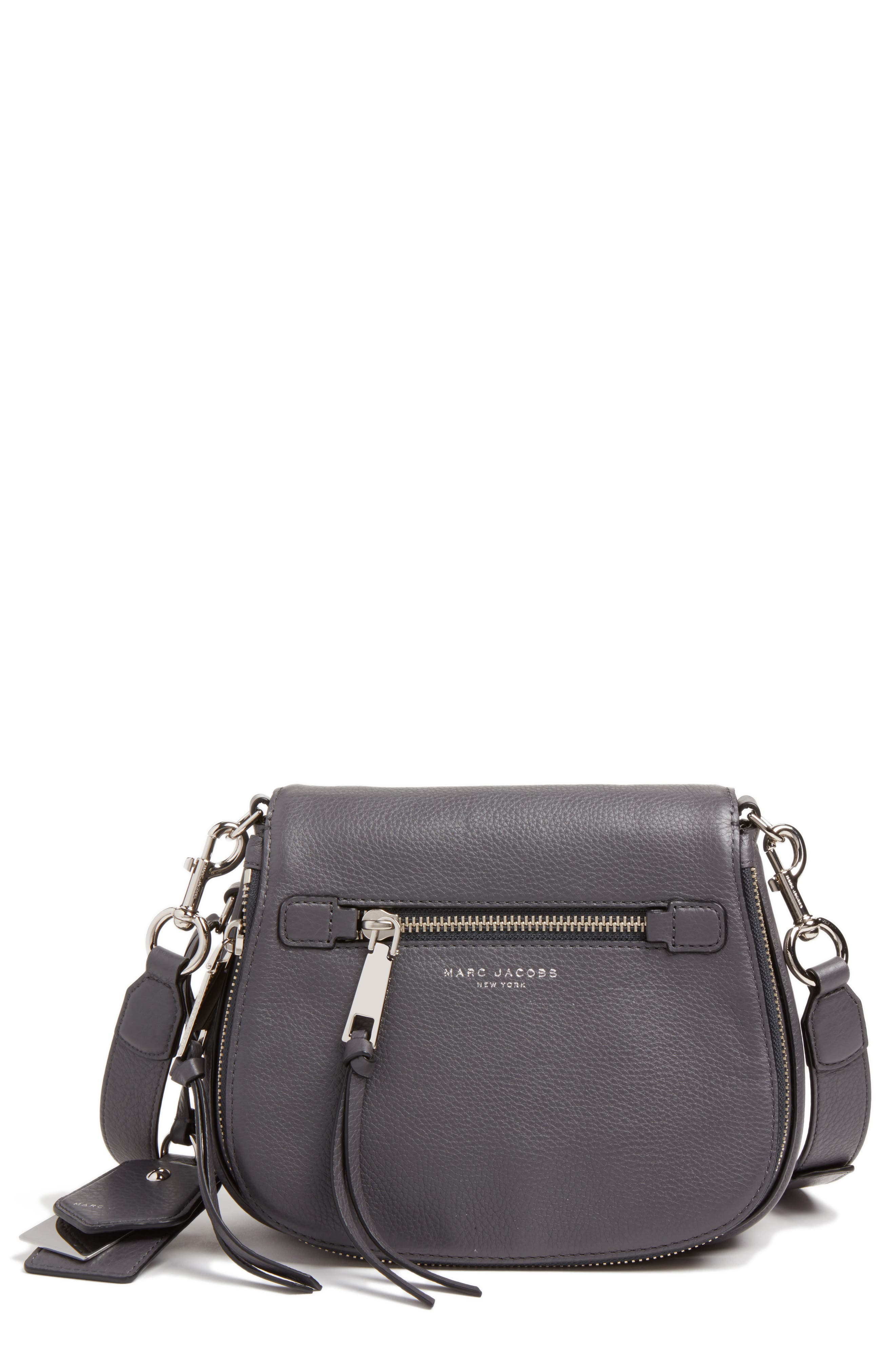 Small Recruit Nomad Pebbled Leather Crossbody Bag,                             Alternate thumbnail 18, color,