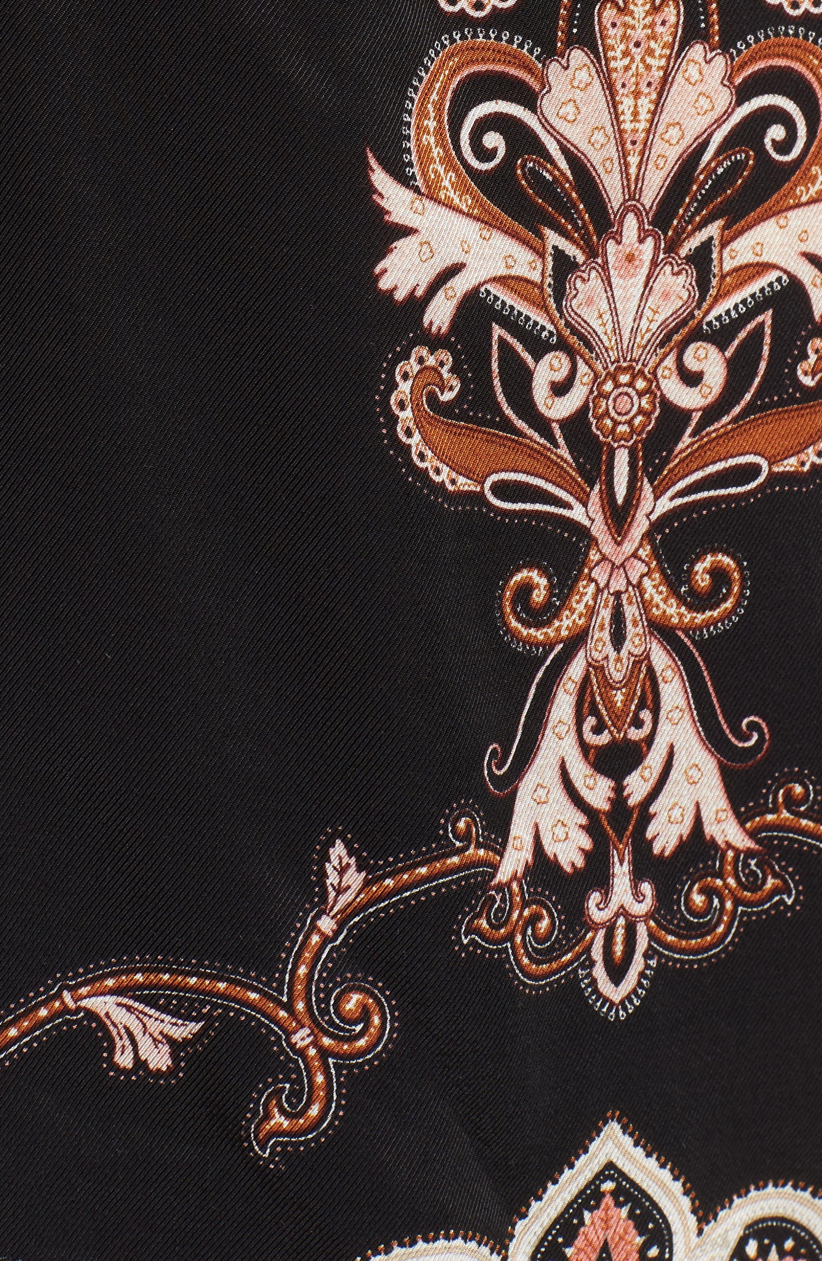 Blake Print Wrap Jacket,                             Alternate thumbnail 6, color,                             NOIR PAISLEY