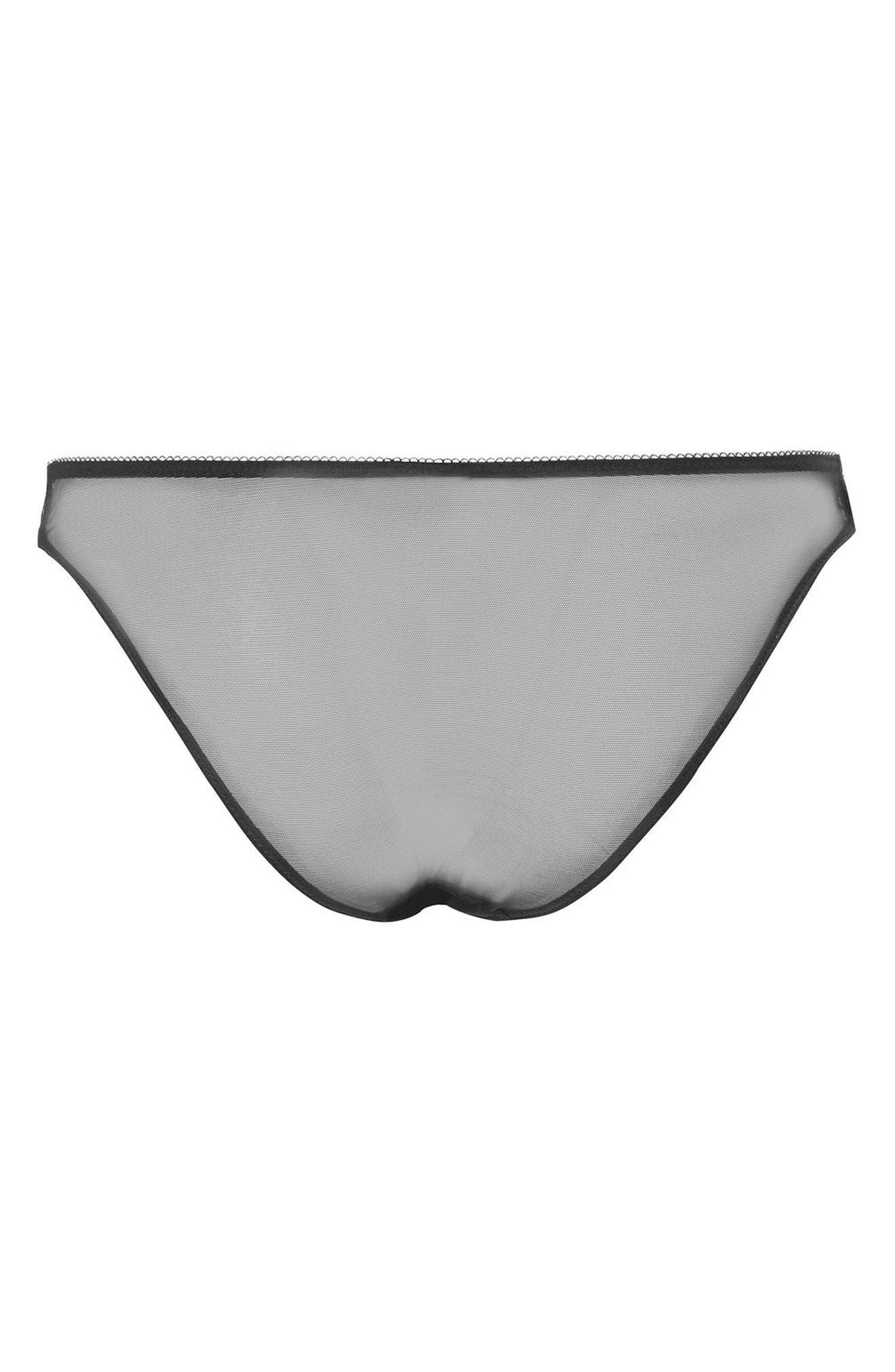 Serina Lace Panties,                             Alternate thumbnail 2, color,                             001