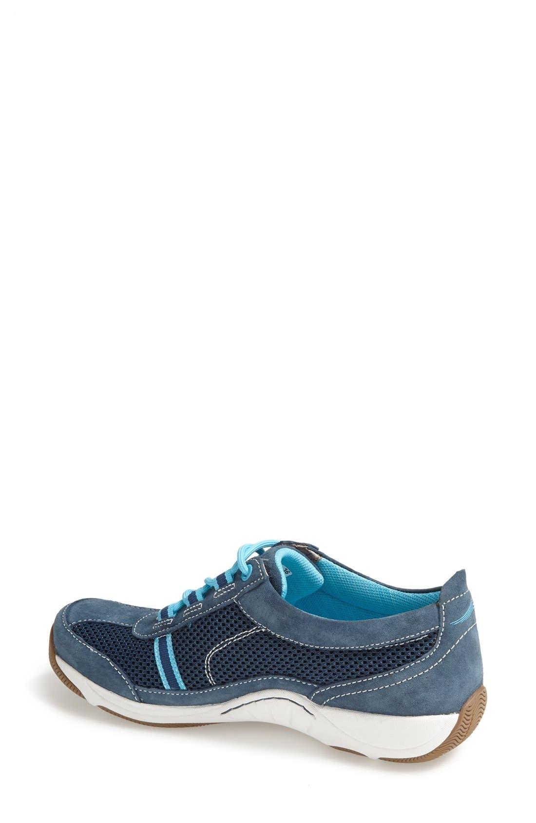 'Helen' Suede & Mesh Sneaker,                             Alternate thumbnail 85, color,