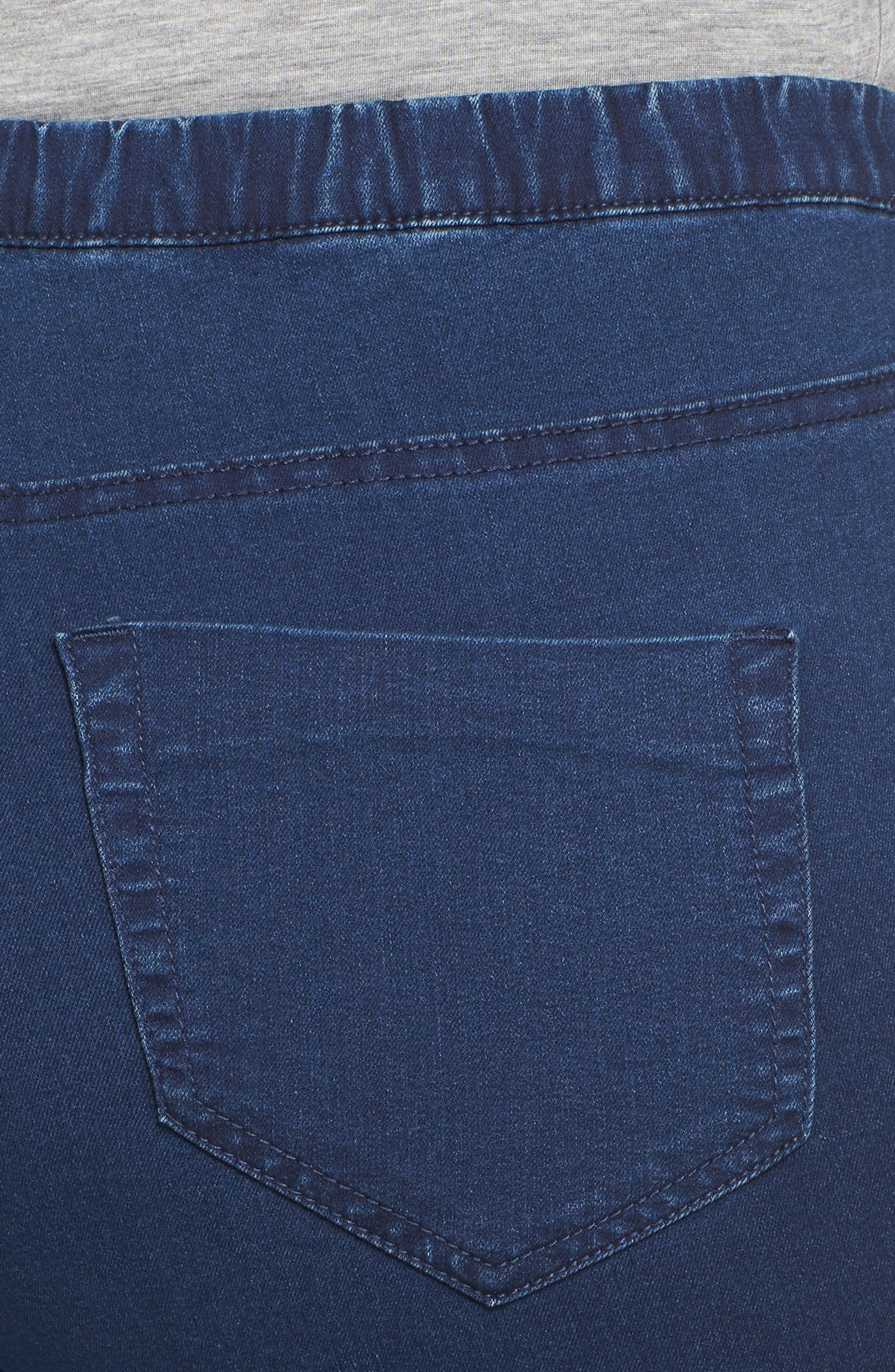 Denim Leggings,                             Alternate thumbnail 4, color,