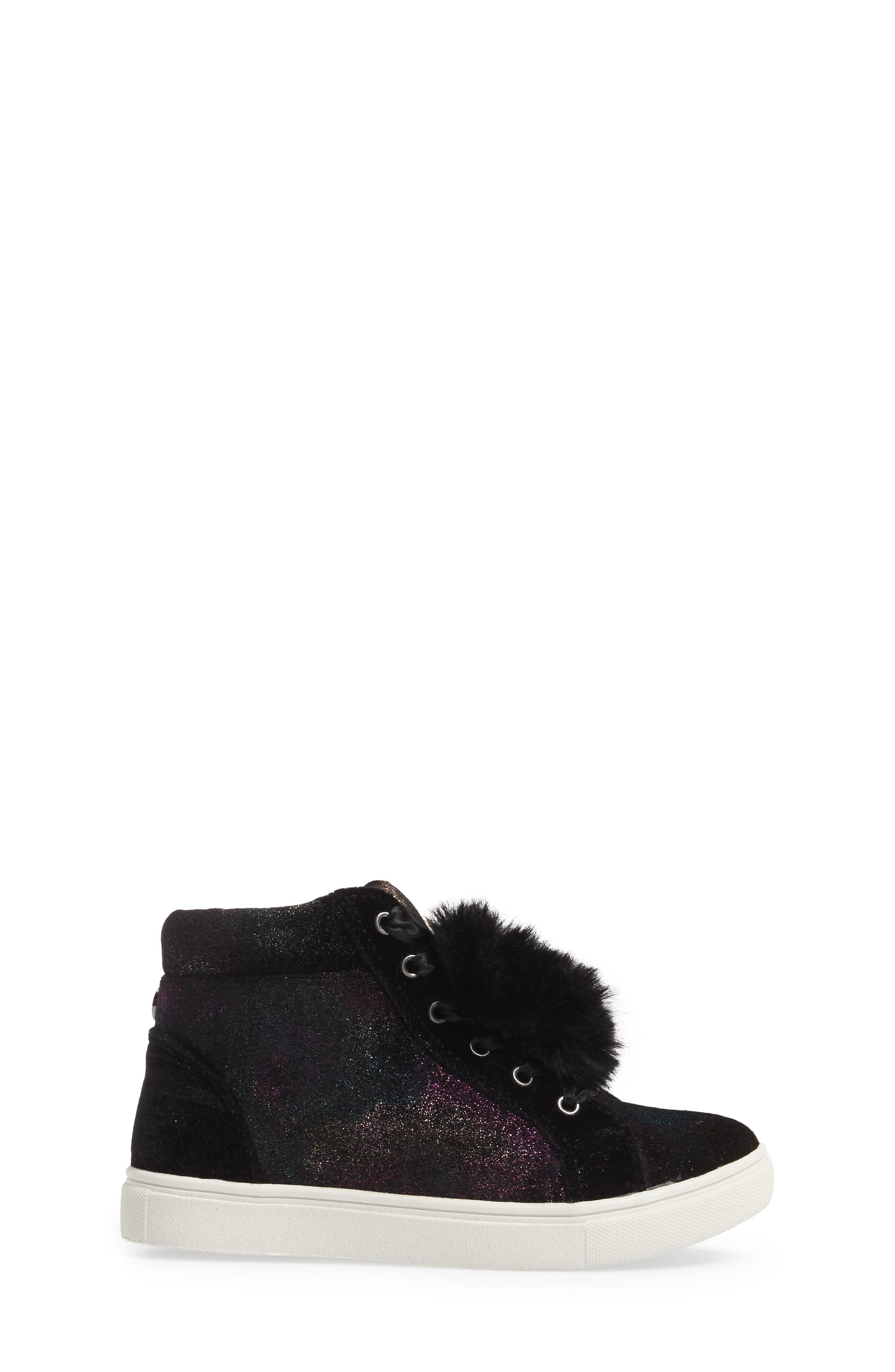 JBrielle High Top Sneaker,                             Alternate thumbnail 3, color,                             015