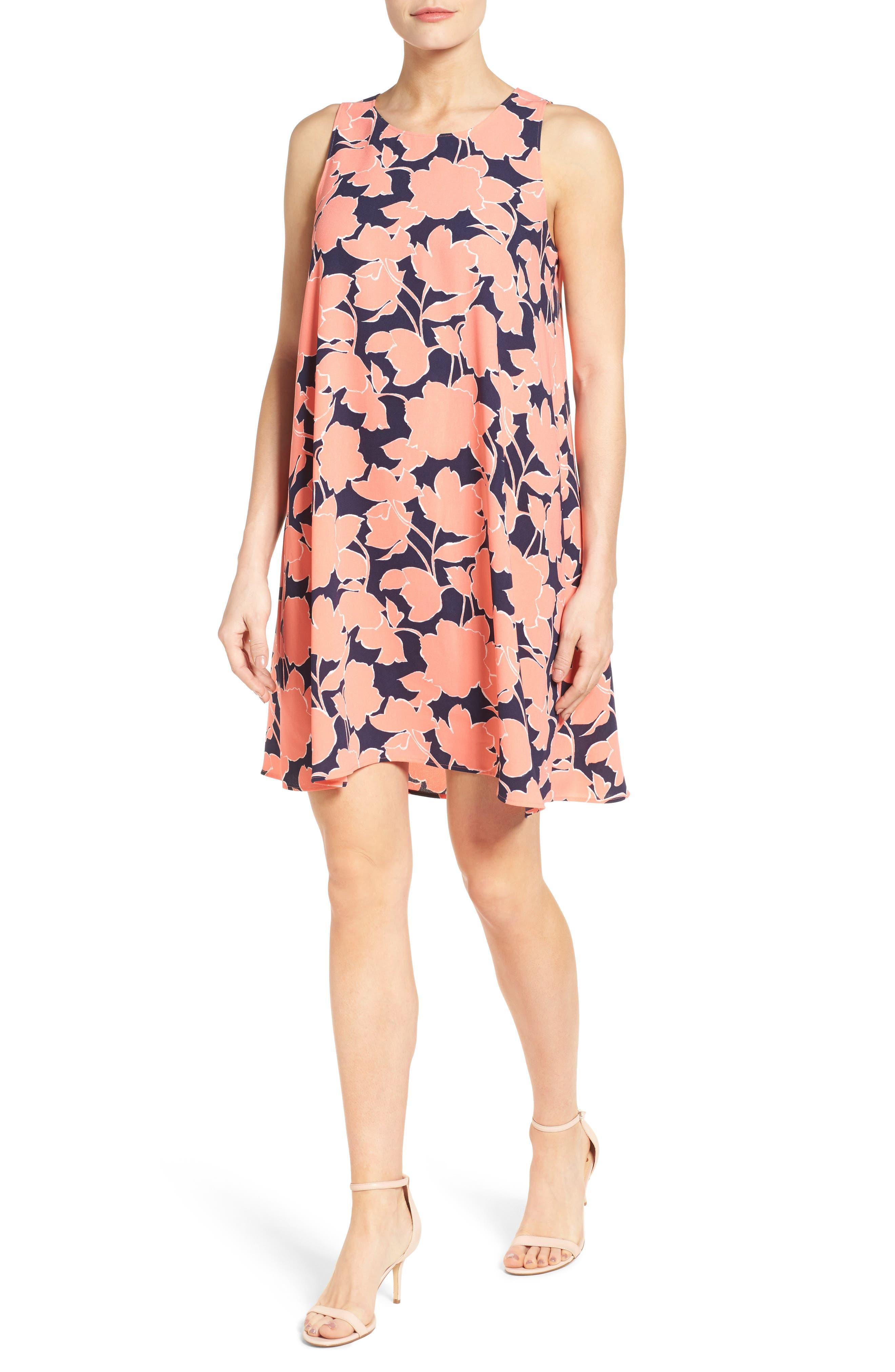 A-Line Dress,                             Alternate thumbnail 130, color,