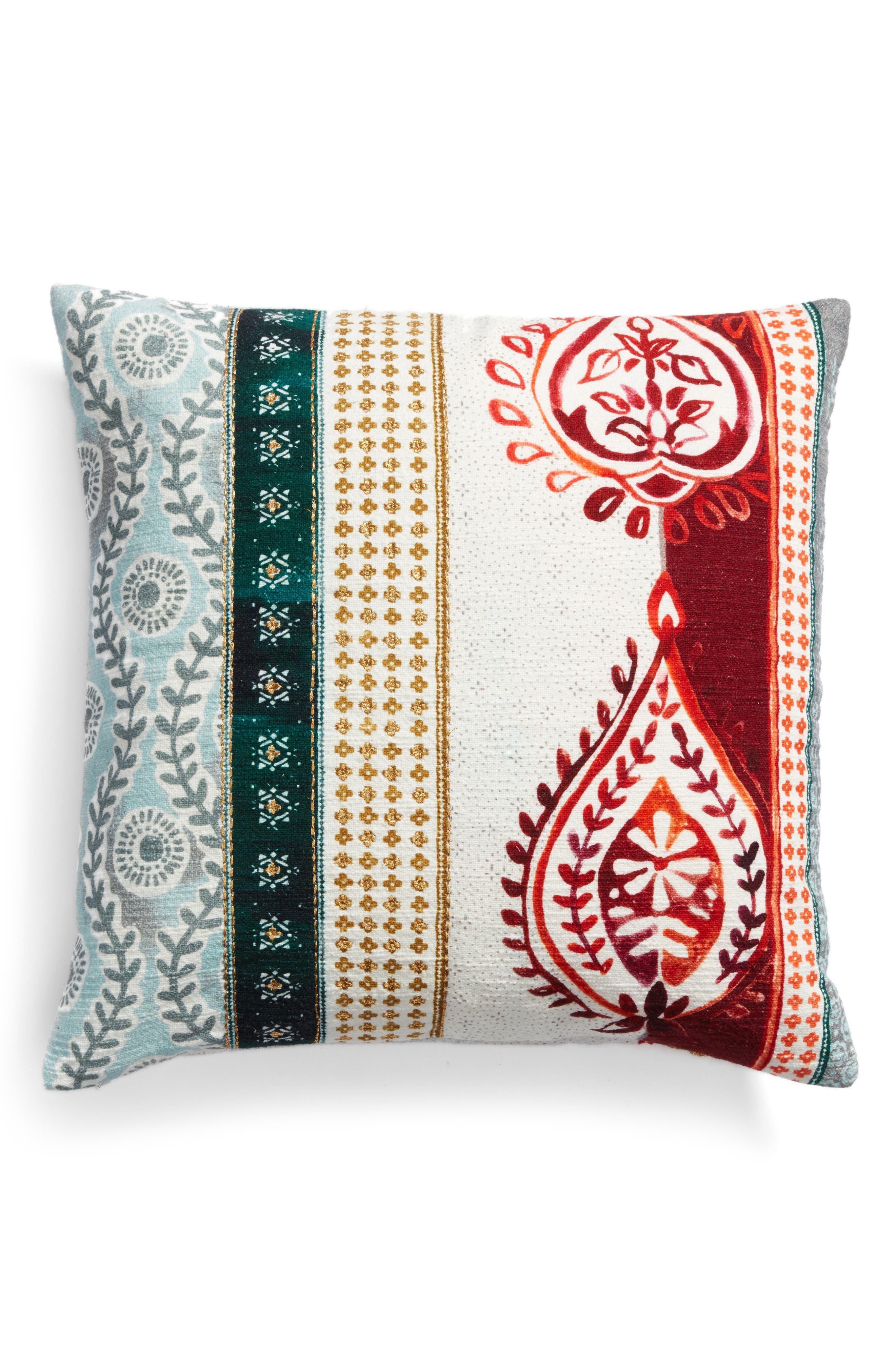 Block Print Pillow,                         Main,                         color, 900