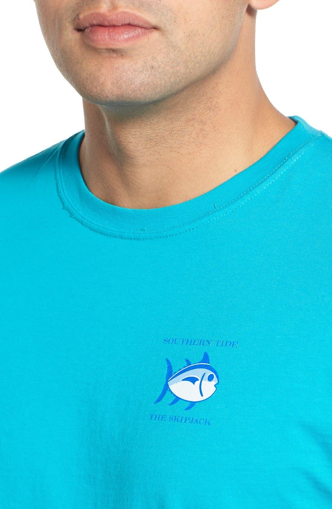 'Skipjack'Long Sleeve Graphic T-Shirt,                             Alternate thumbnail 39, color,