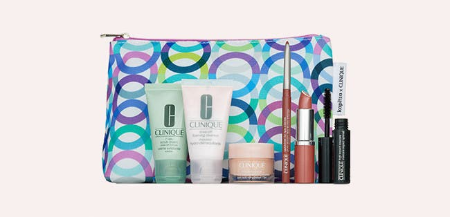 Choose a free gift with your $29 Clinique purchase. A $75 Value.