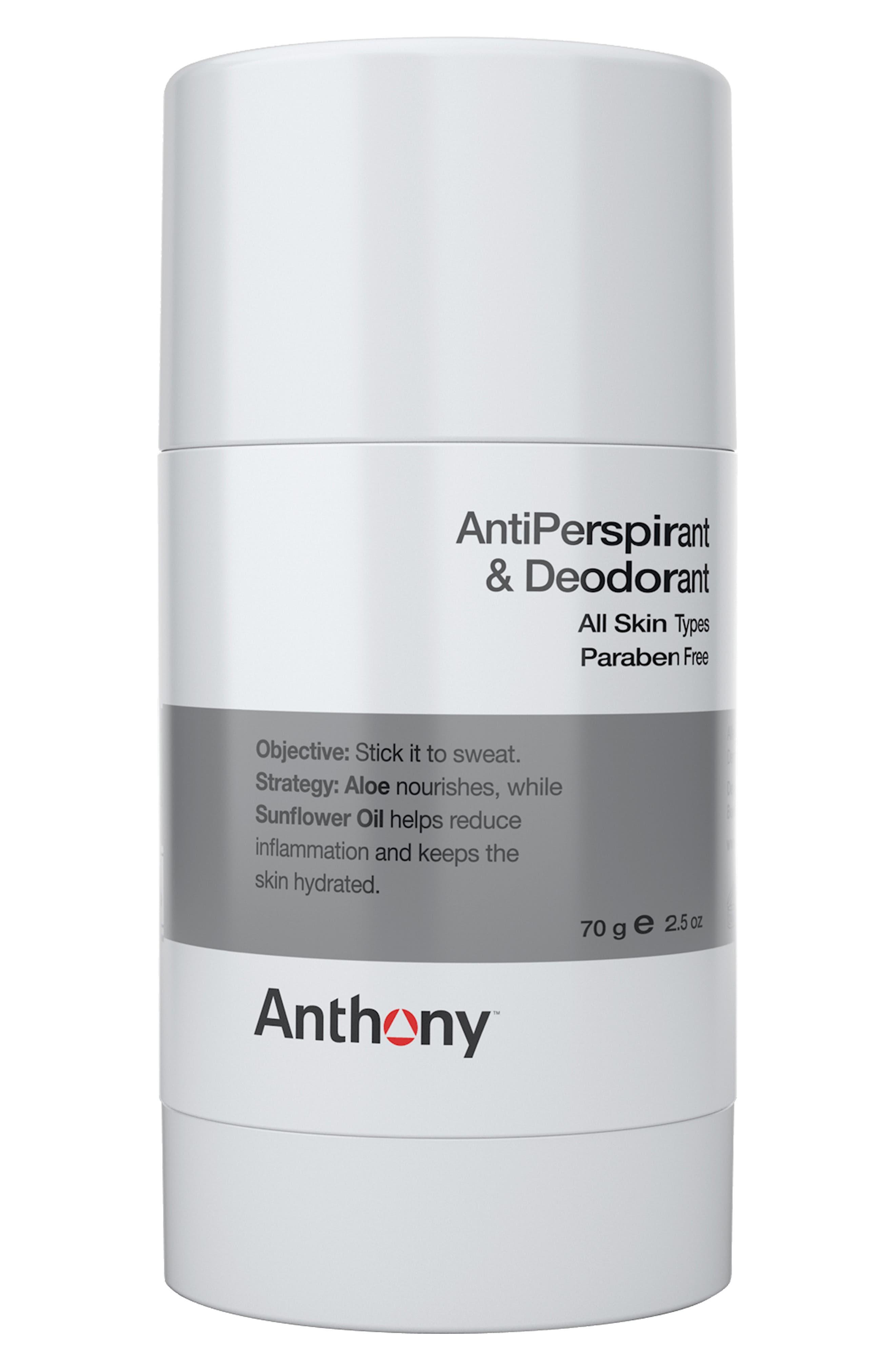 Antiperspirant & Deodorant,                         Main,                         color, NO COLOR