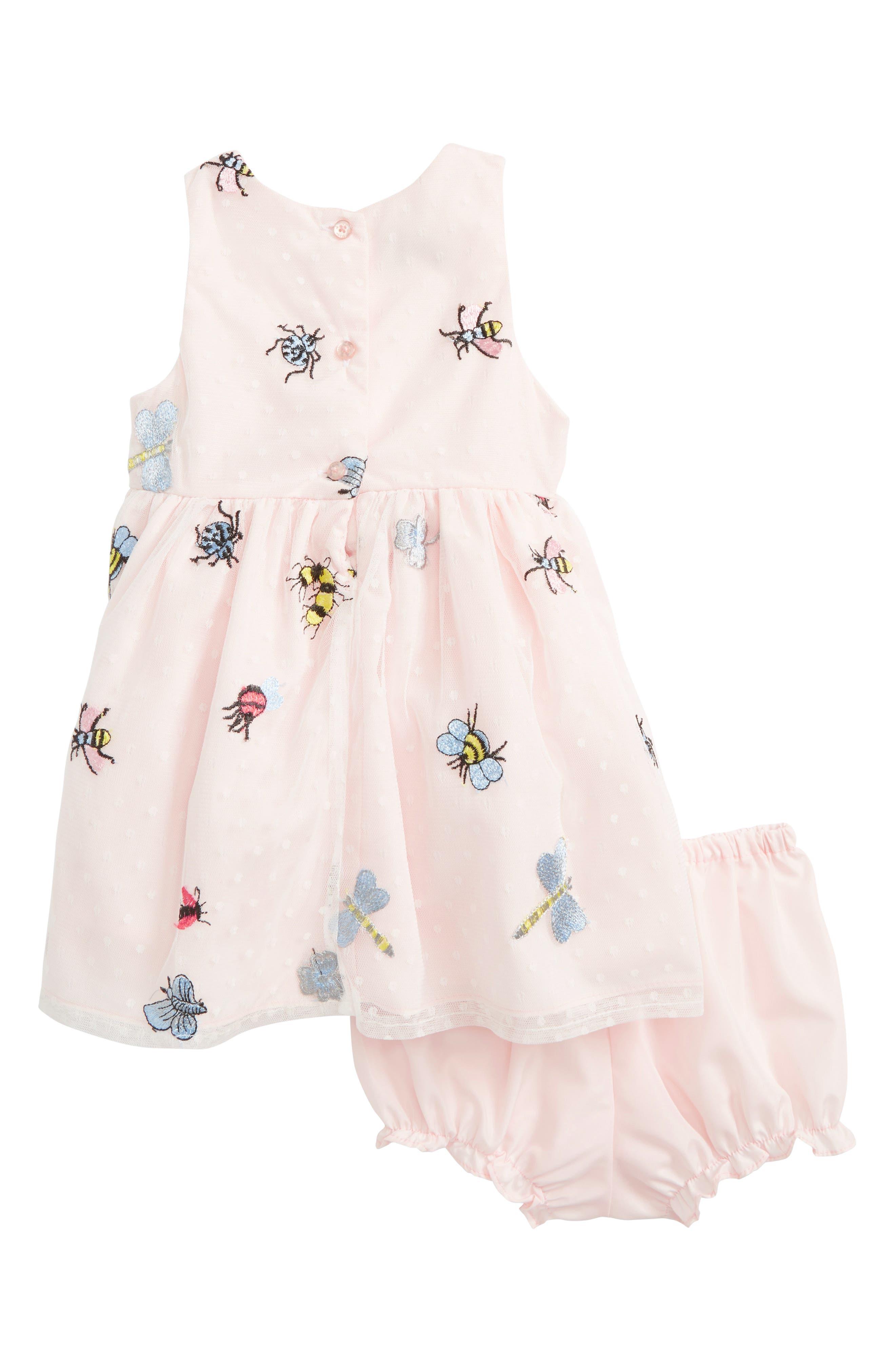 Mesh Bug Dress,                             Alternate thumbnail 2, color,                             650