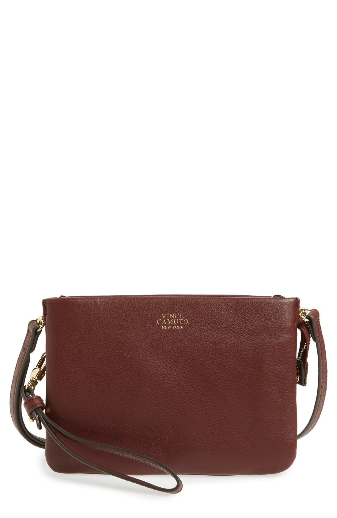 'Cami' Leather Crossbody Bag,                             Main thumbnail 34, color,