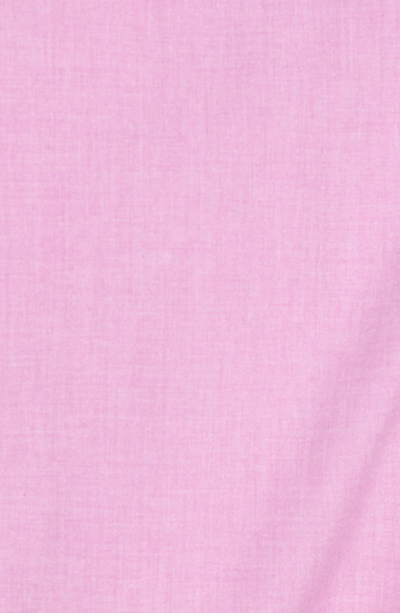 Heather Classic Fit No-Iron Sport Shirt,                             Alternate thumbnail 15, color,