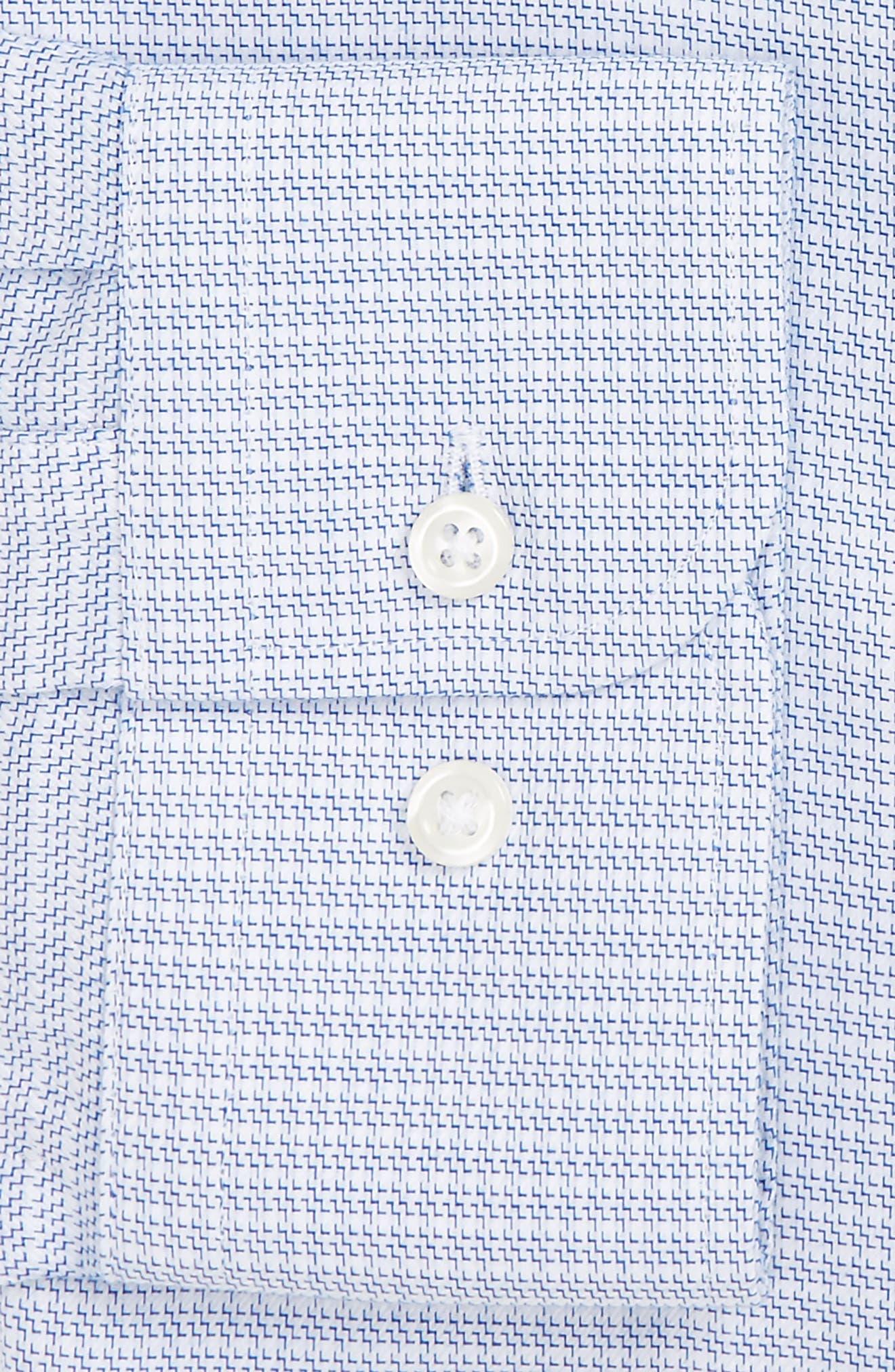 Smartcare<sup>™</sup> Trim Fit Dress Shirt,                             Alternate thumbnail 3, color,                             450