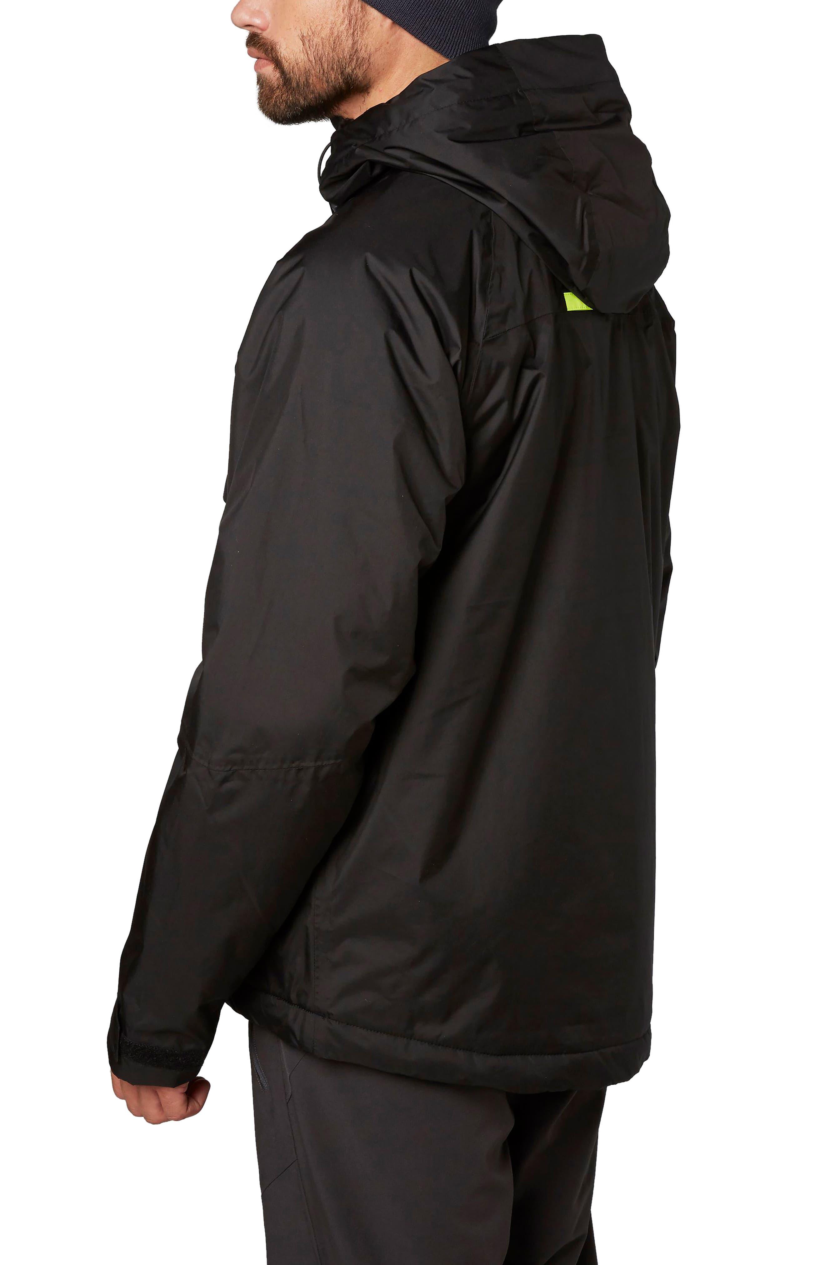 Loke Hair Waterproof Jacket,                             Alternate thumbnail 2, color,                             001