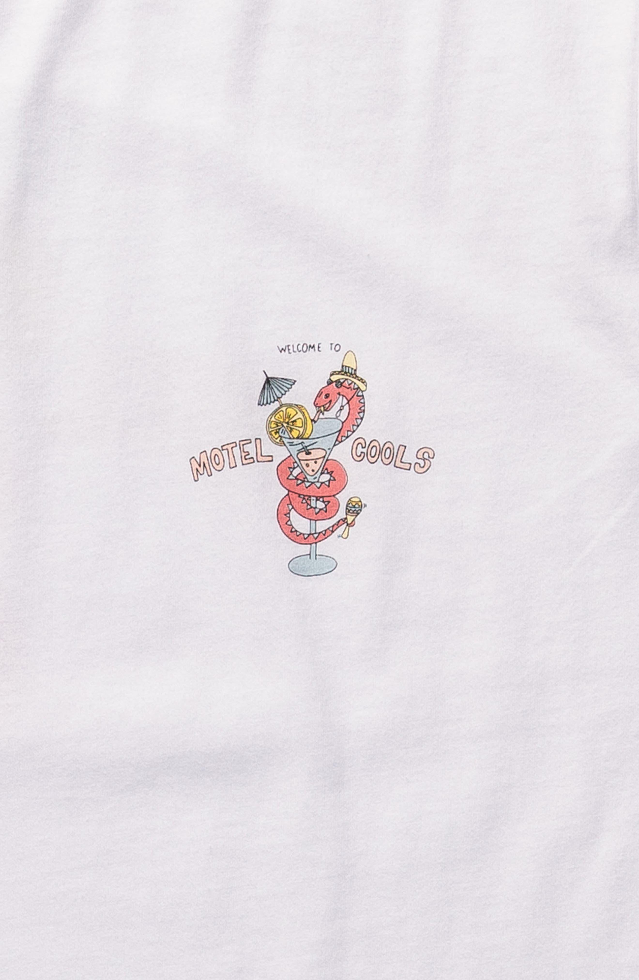 Snake Graphic T-Shirt,                             Alternate thumbnail 5, color,                             100