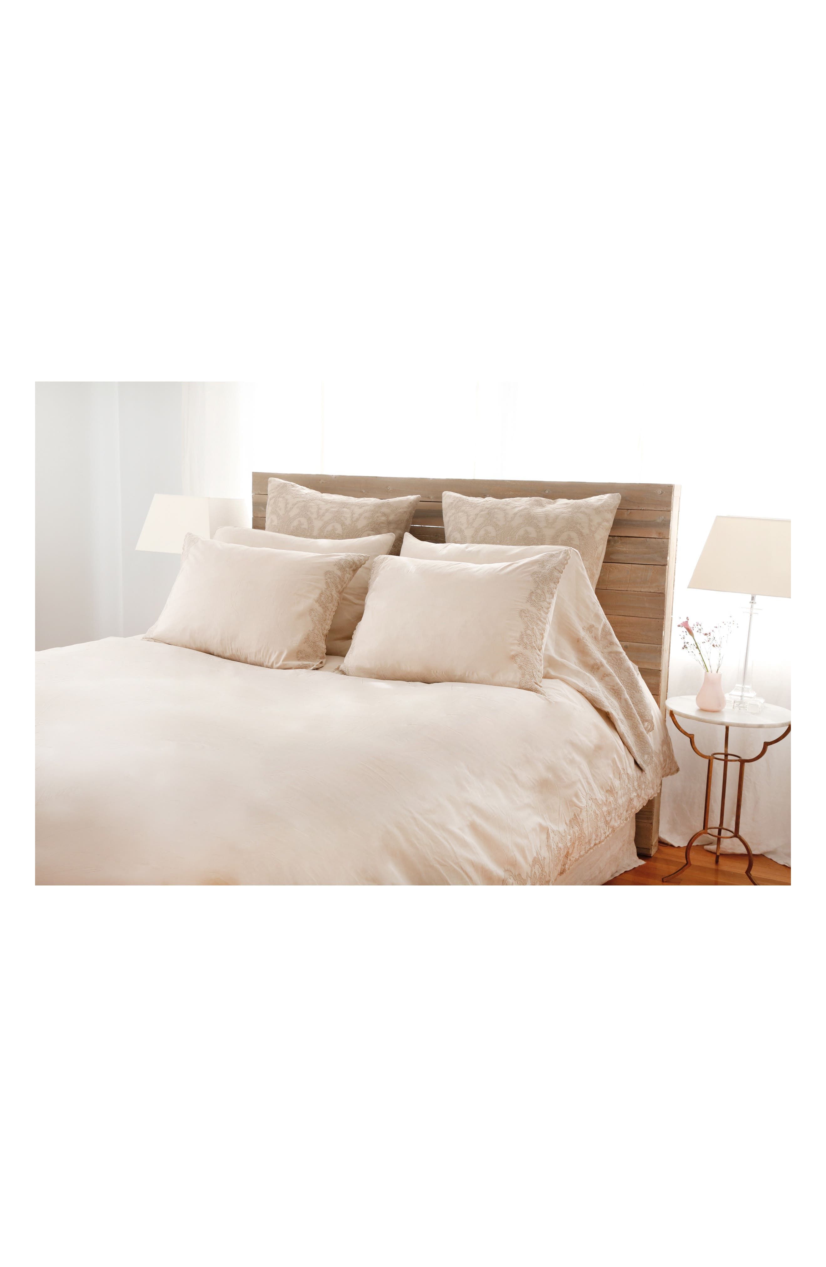 Grace Pillowcases,                             Alternate thumbnail 5, color,                             TAUPE