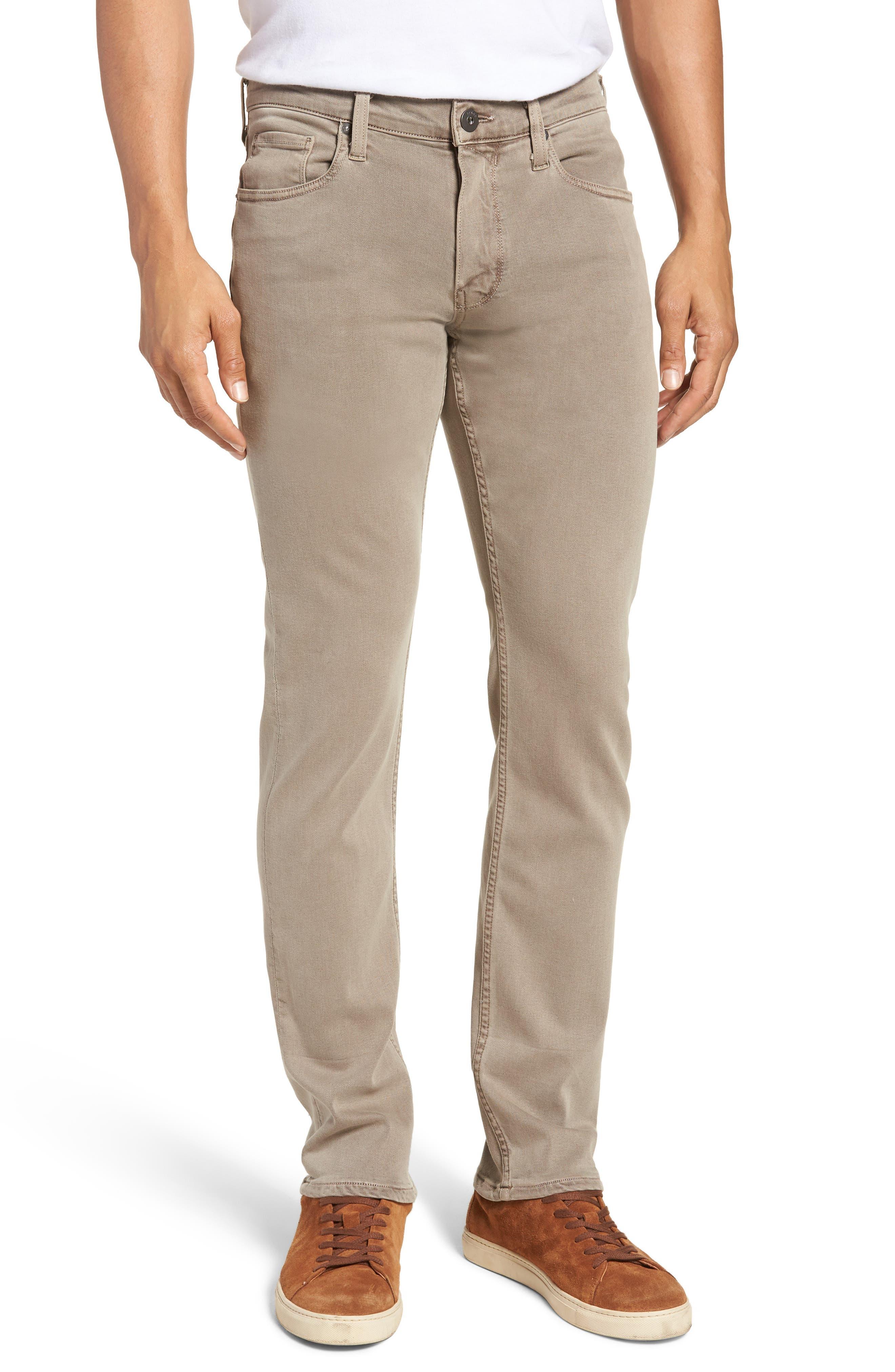 Federal Slim Straight Leg Jeans,                             Main thumbnail 1, color,                             VINTAGE MUSHROOM