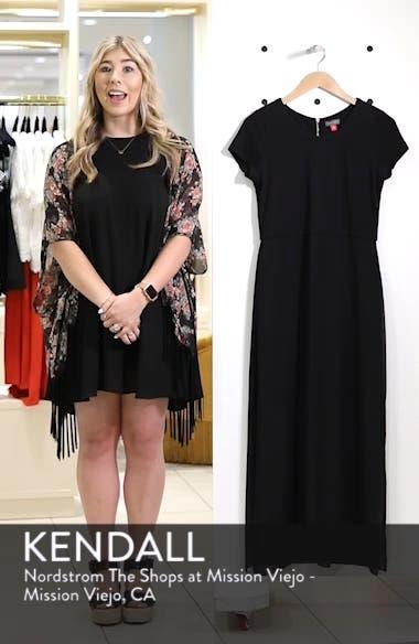 Chiffon Overlay Maxi Dress, sales video thumbnail