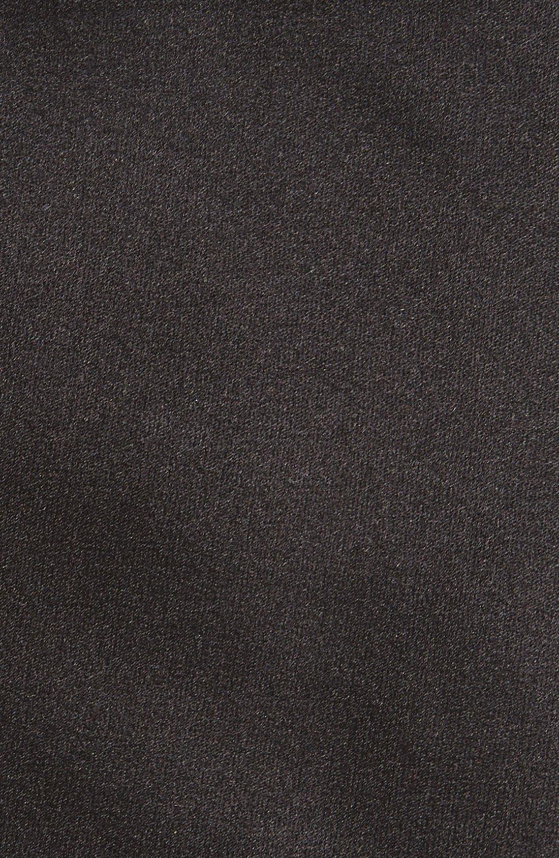 Silk Tie,                             Alternate thumbnail 2, color,                             BLACK
