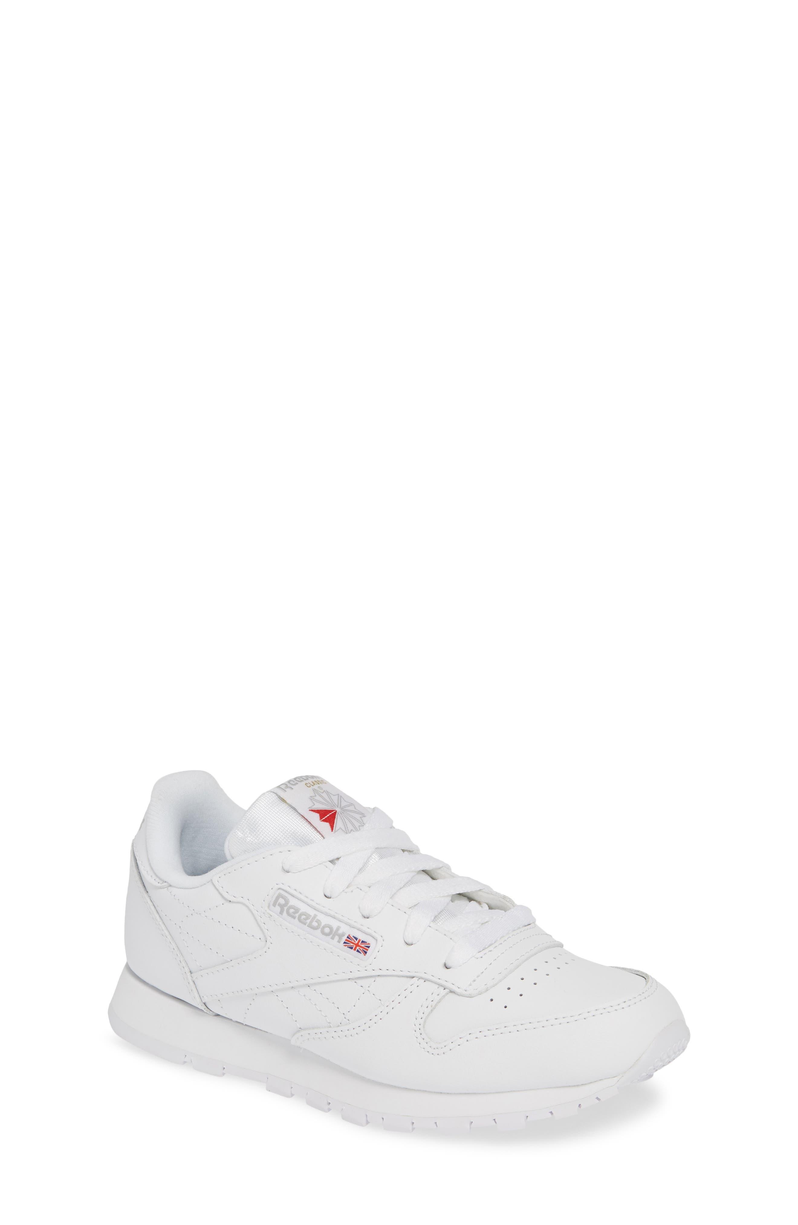 aac91dde62efdd Kid s Reebok Classic Leather Sneaker