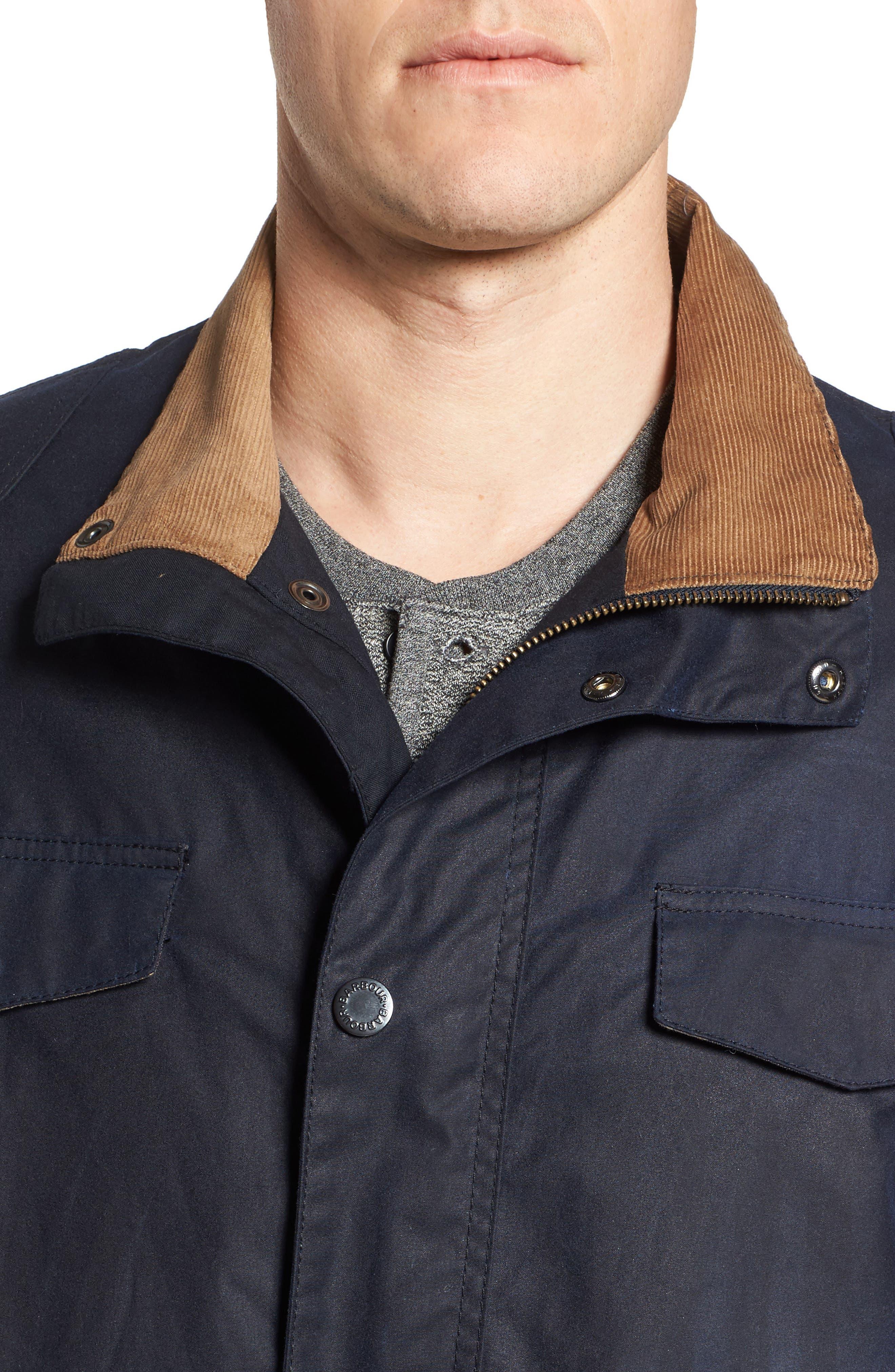 Lomond Waxed Cotton Jacket,                             Alternate thumbnail 4, color,                             410