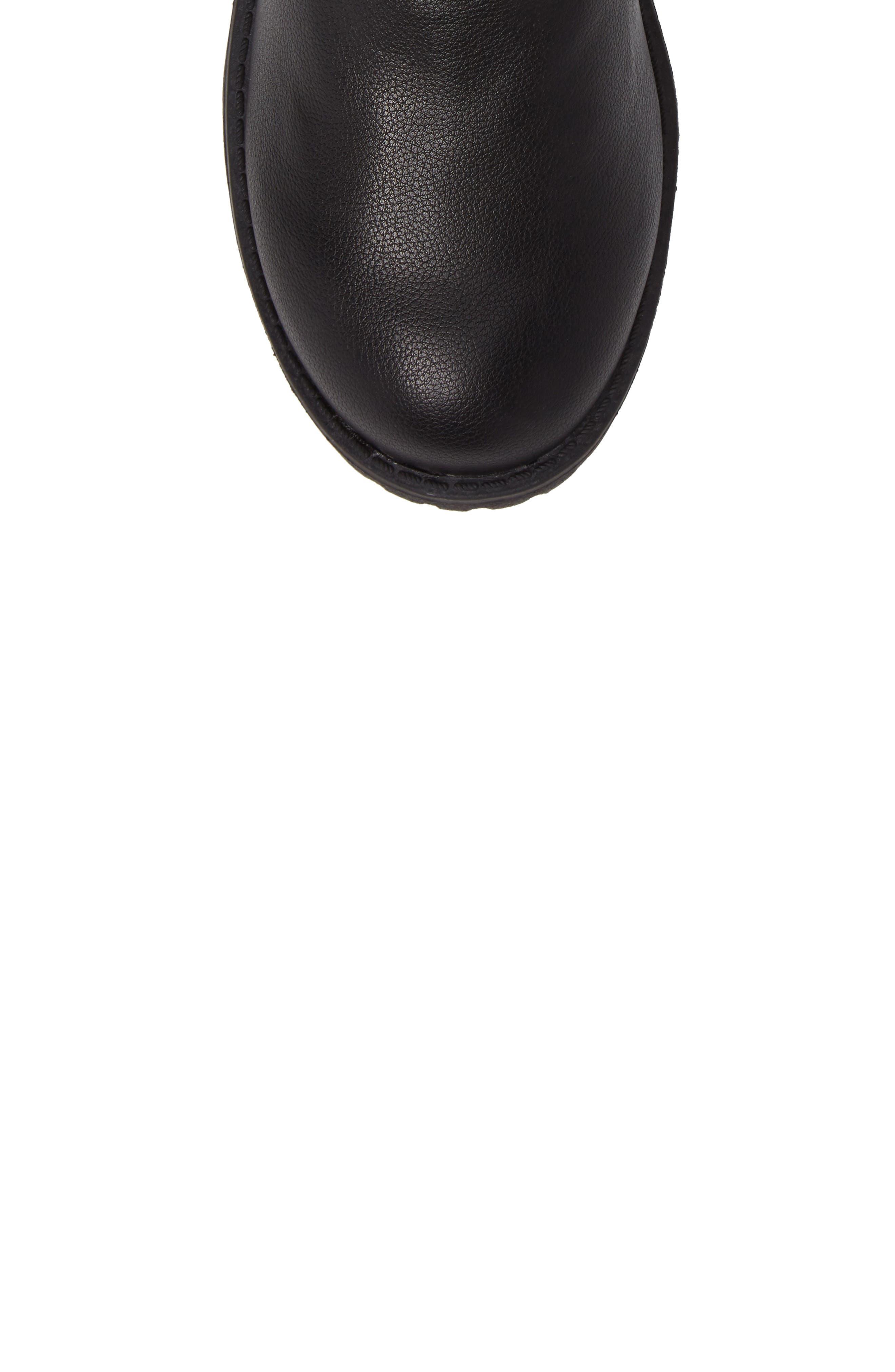 FRYE,                             Veronica Buckle-Strap Engineer Boot,                             Alternate thumbnail 5, color,                             BLACK