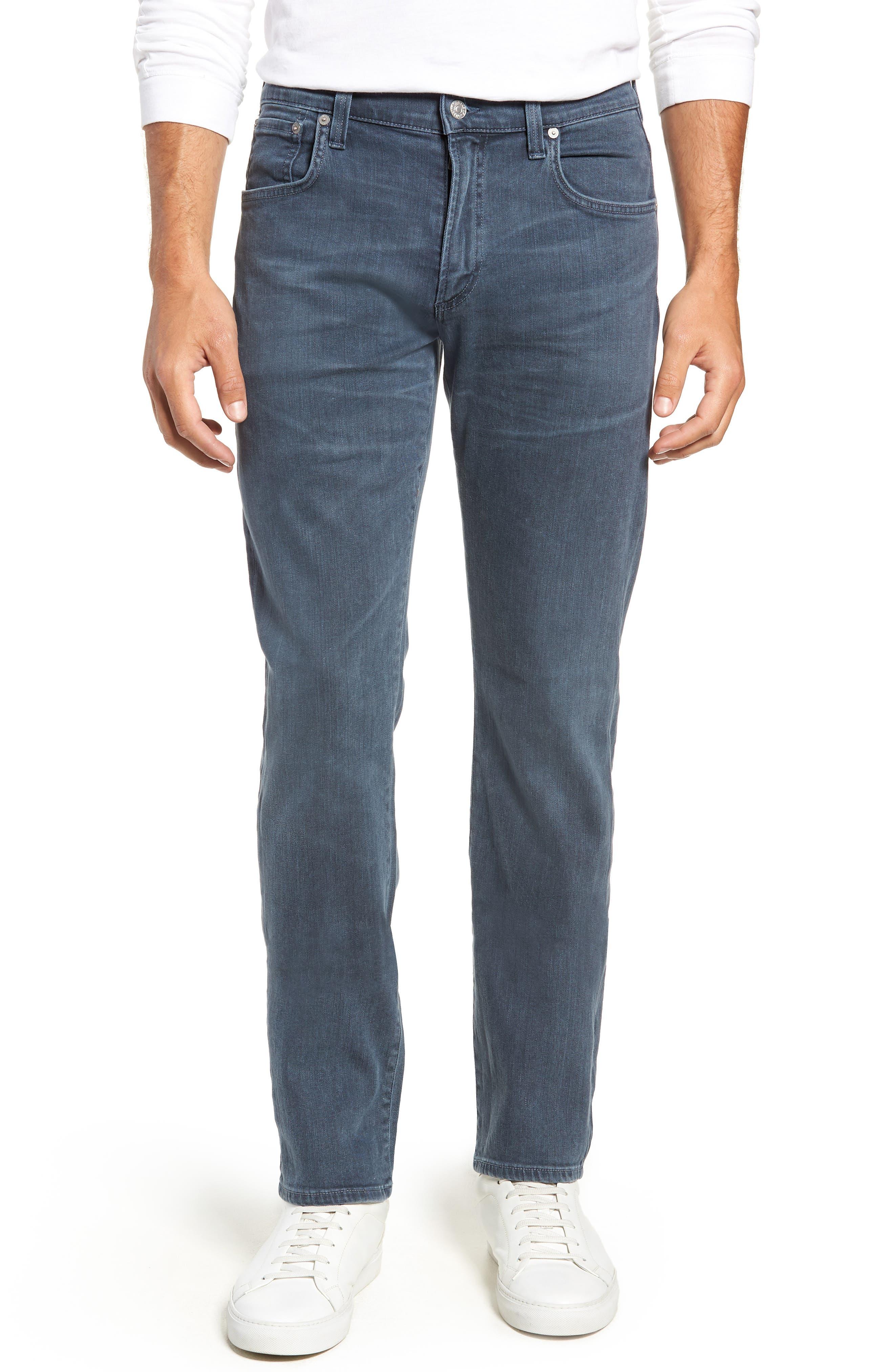Gage Slim Straight Leg Jeans,                             Main thumbnail 1, color,                             SORRENTO