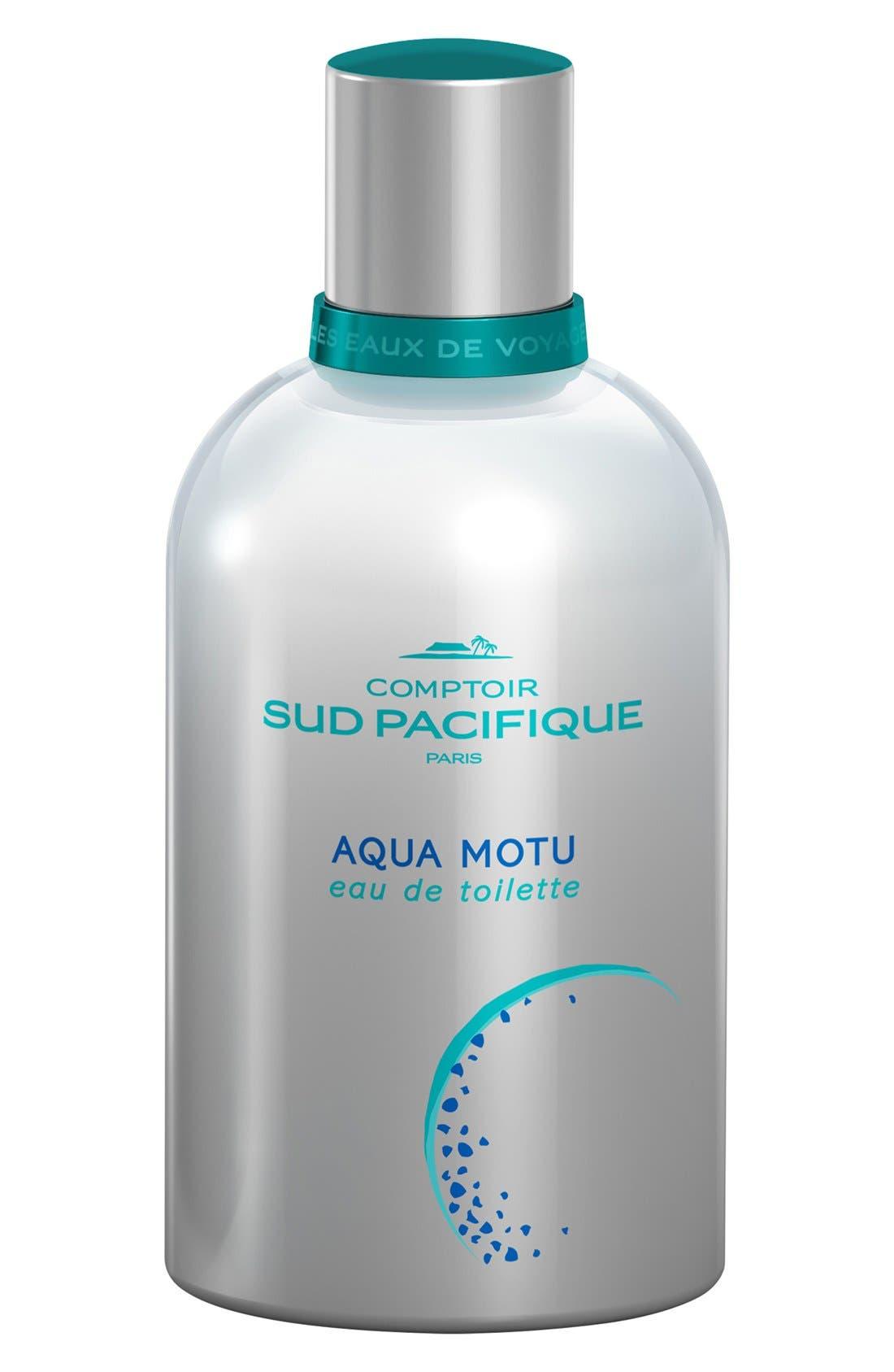 'Aqua Motu' Eau de Toilette, Main, color, 000