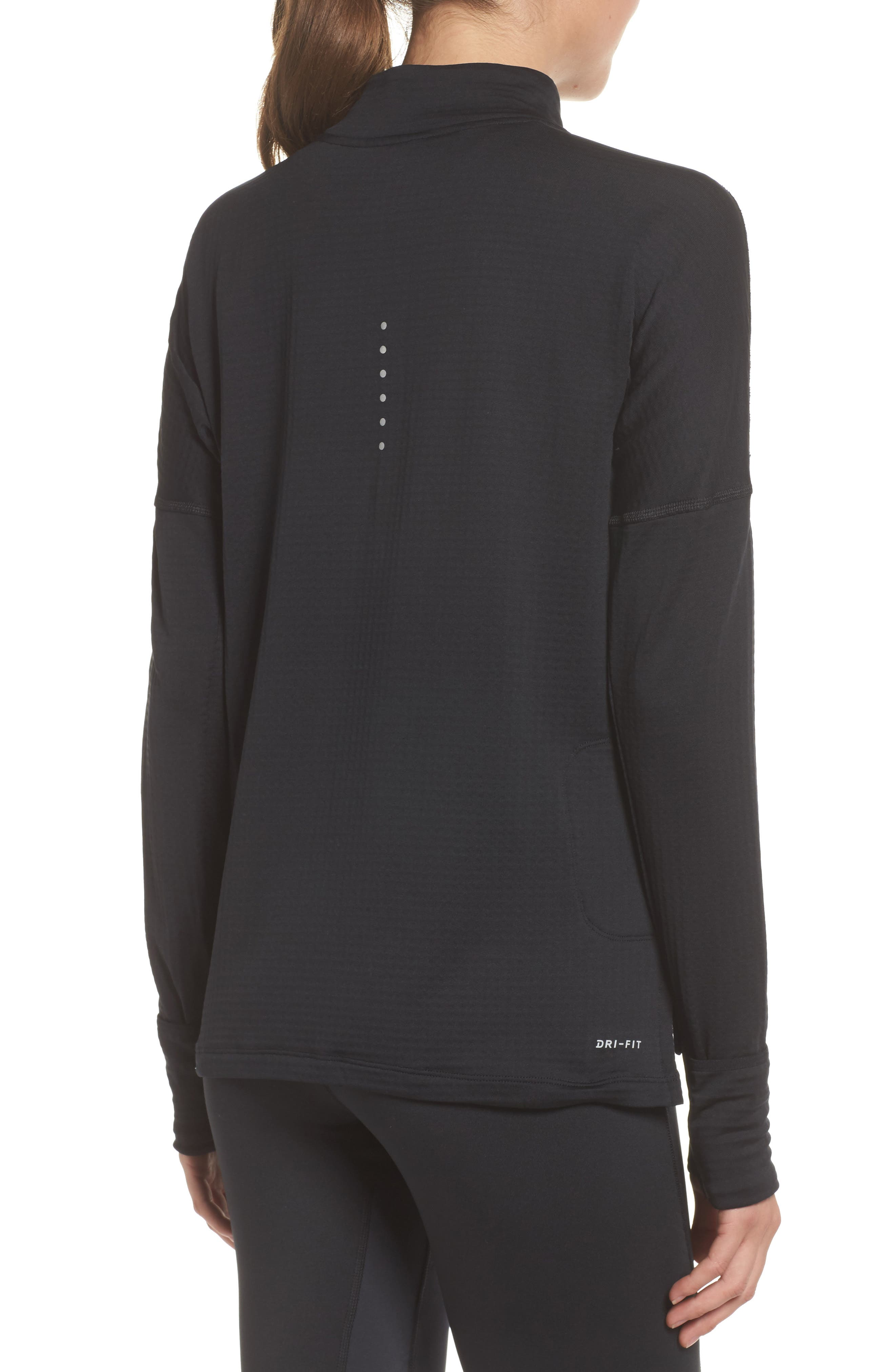 Therma Sphere Element Running Pullover Top,                             Alternate thumbnail 2, color,                             010