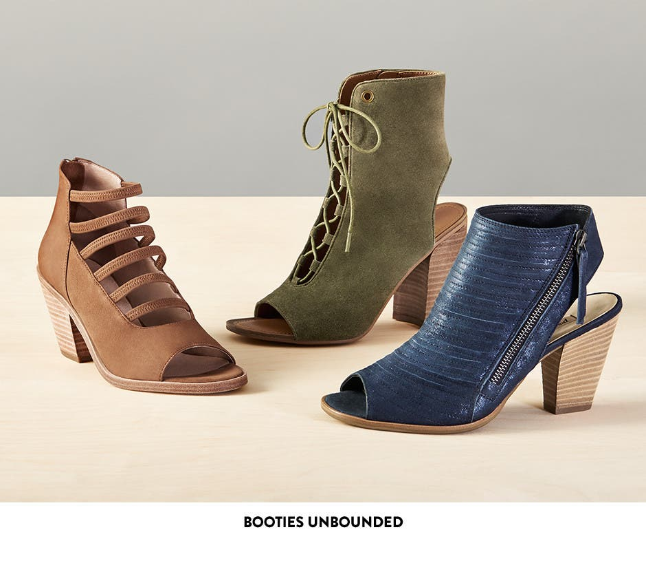 Booties unbounded.