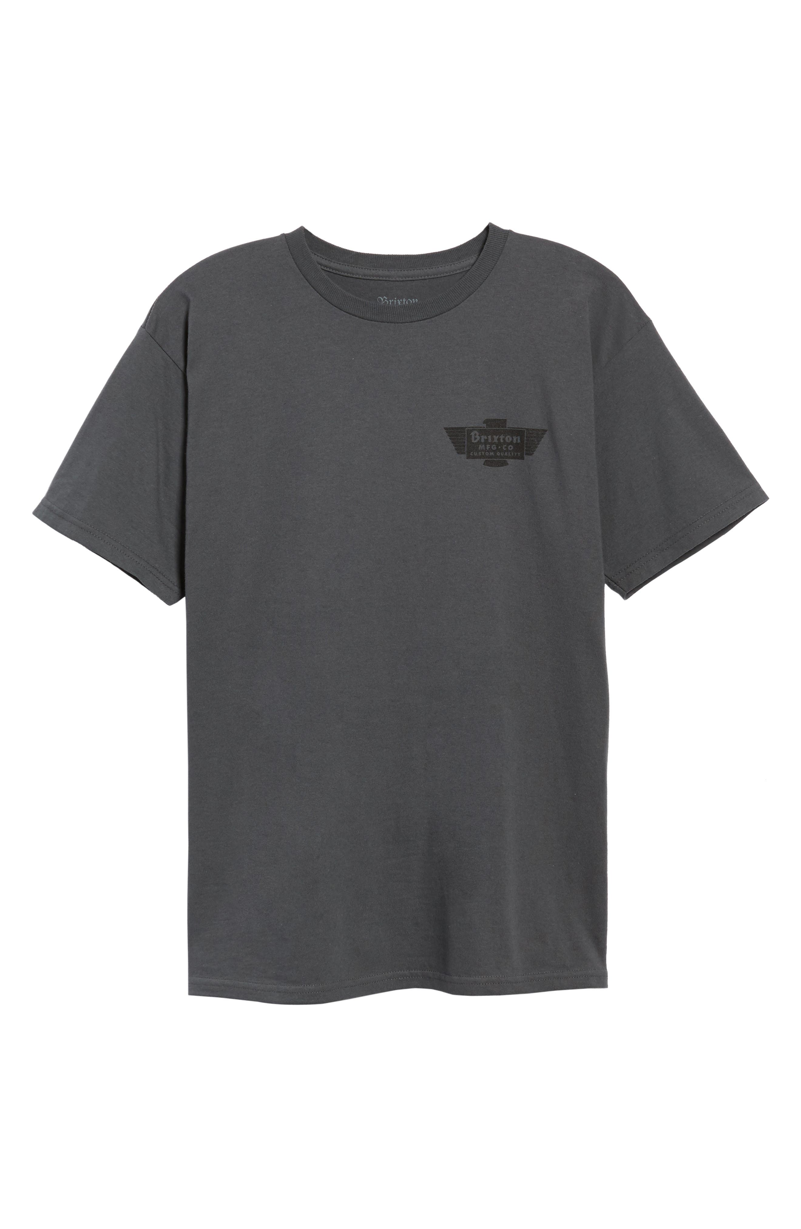 Cylinder Standard T-Shirt,                             Alternate thumbnail 6, color,                             050