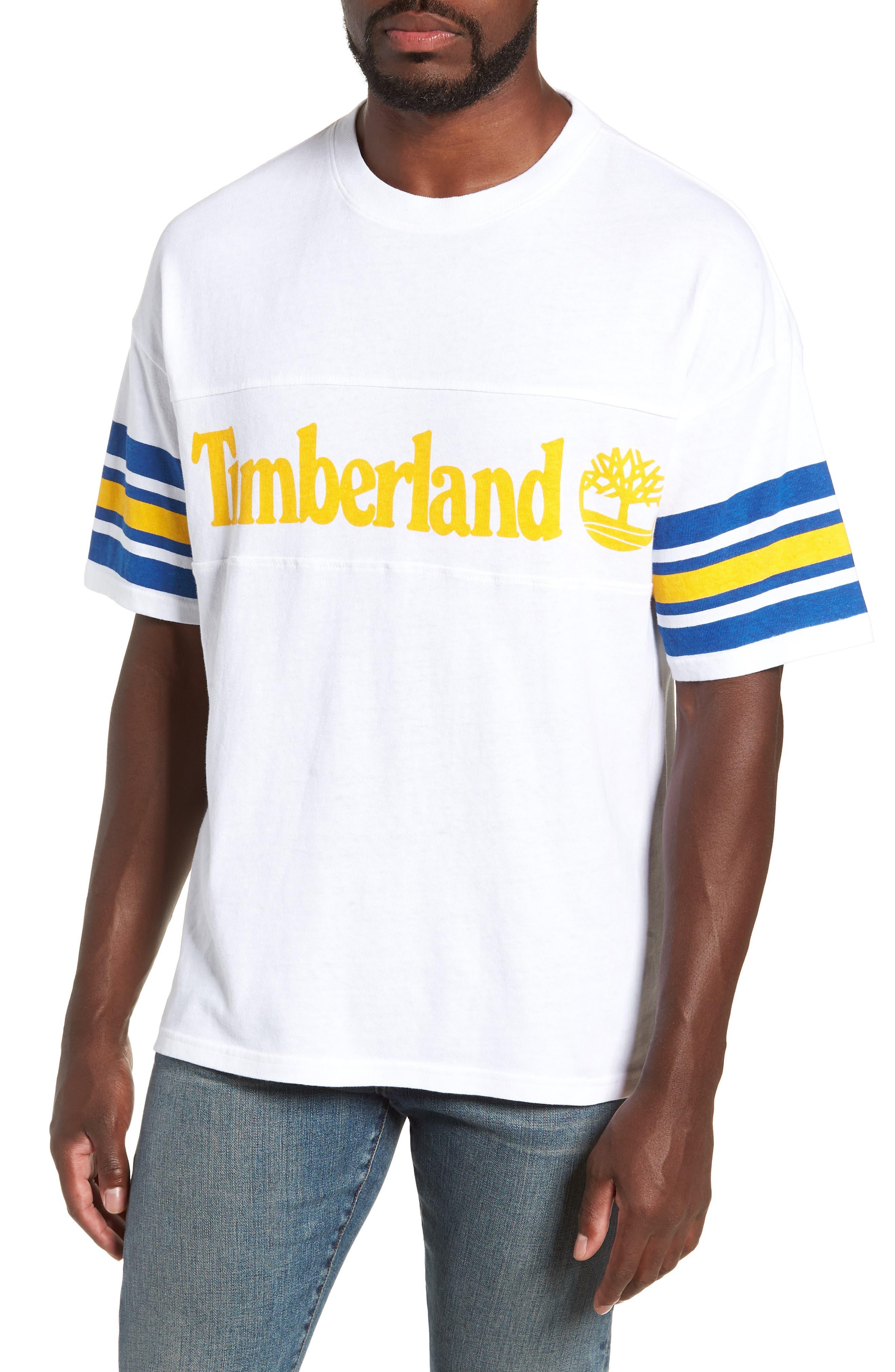 Oversize '90s Logo T-Shirt,                             Main thumbnail 1, color,                             WHITE