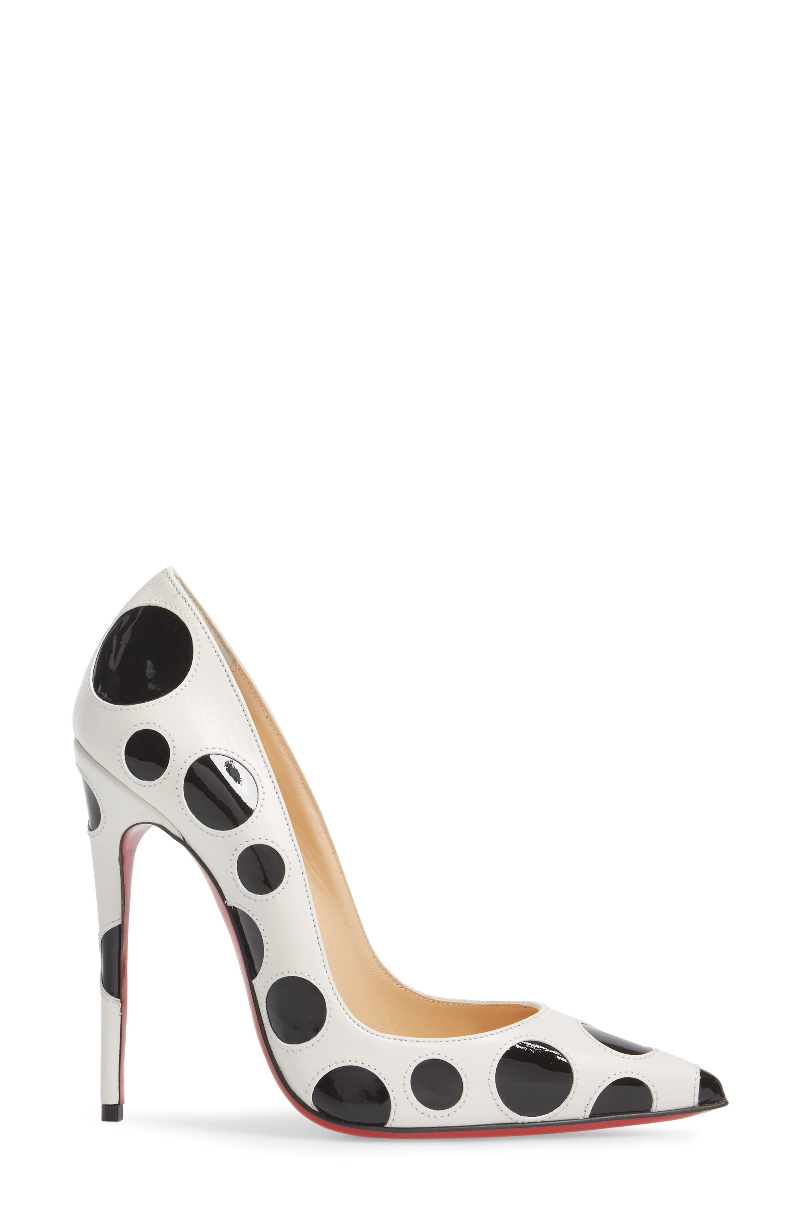 So Kate Pointy Toe Pump,                             Alternate thumbnail 3, color,                             100