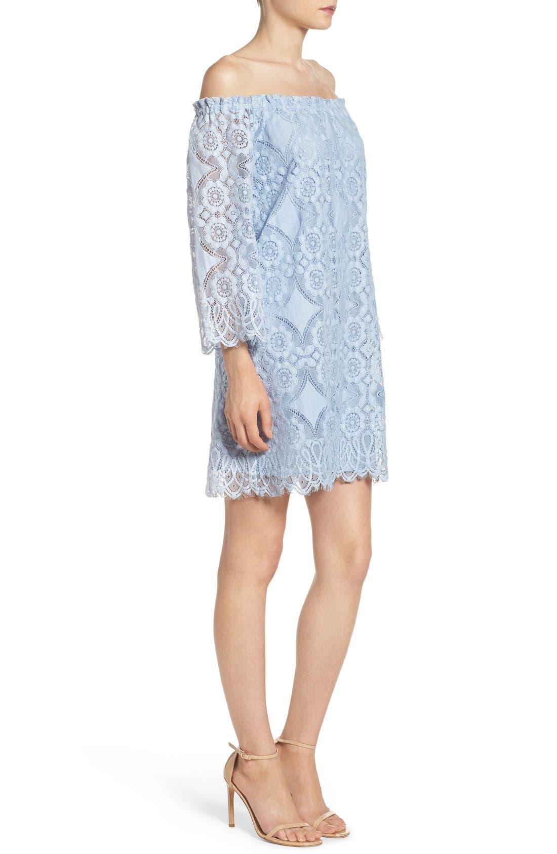 Halden A-Line Dress,                             Alternate thumbnail 5, color,                             460