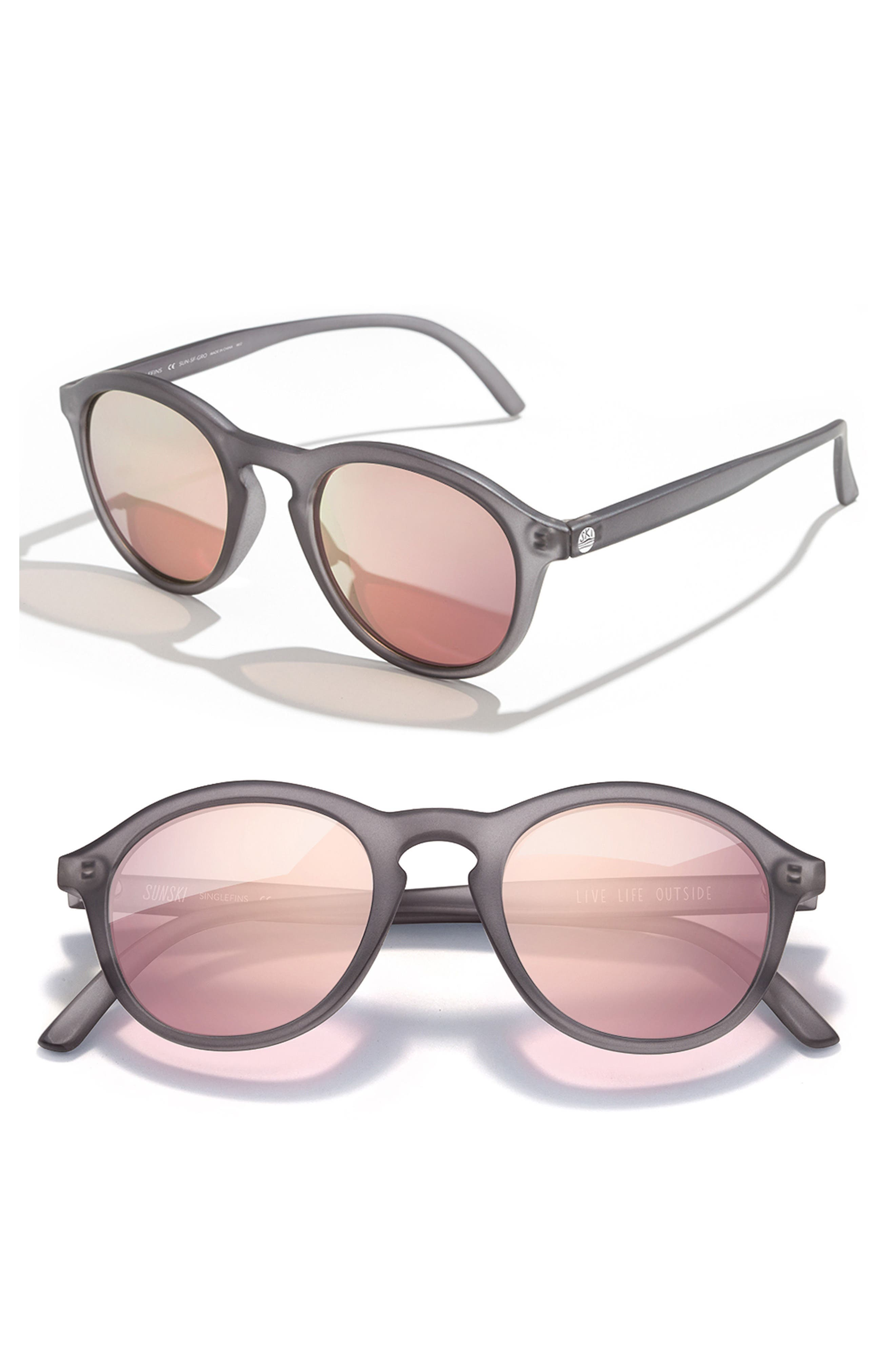Sunski Singlefin 50Mm Polarized Sunglasses -