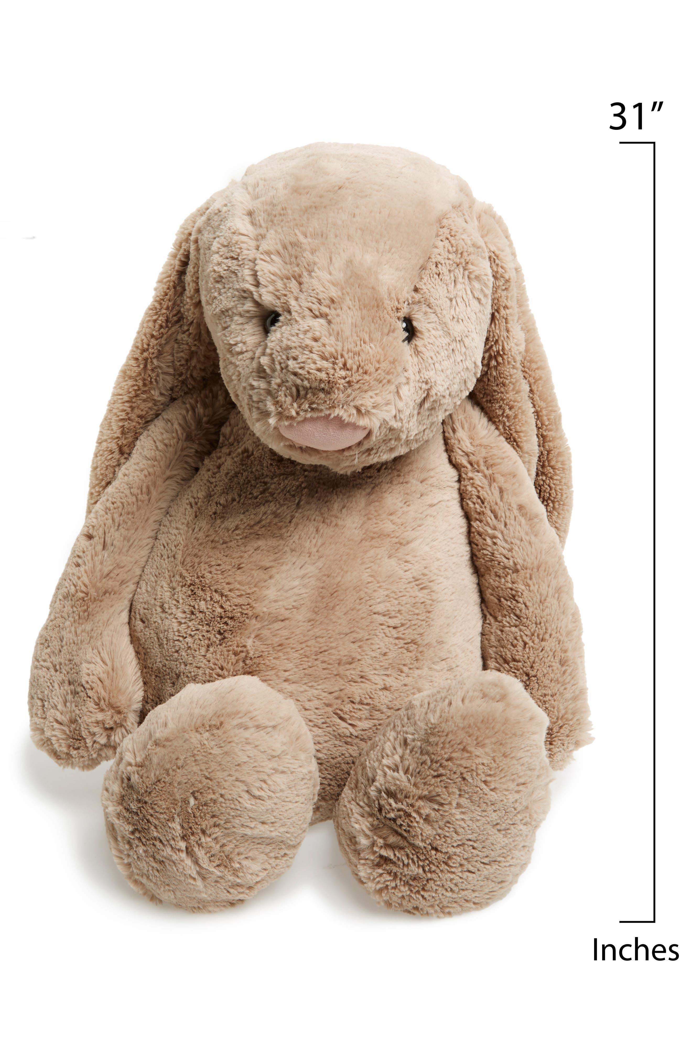 'Really Big Bashful Bunny' Stuffed Animal,                             Alternate thumbnail 2, color,                             BEIGE