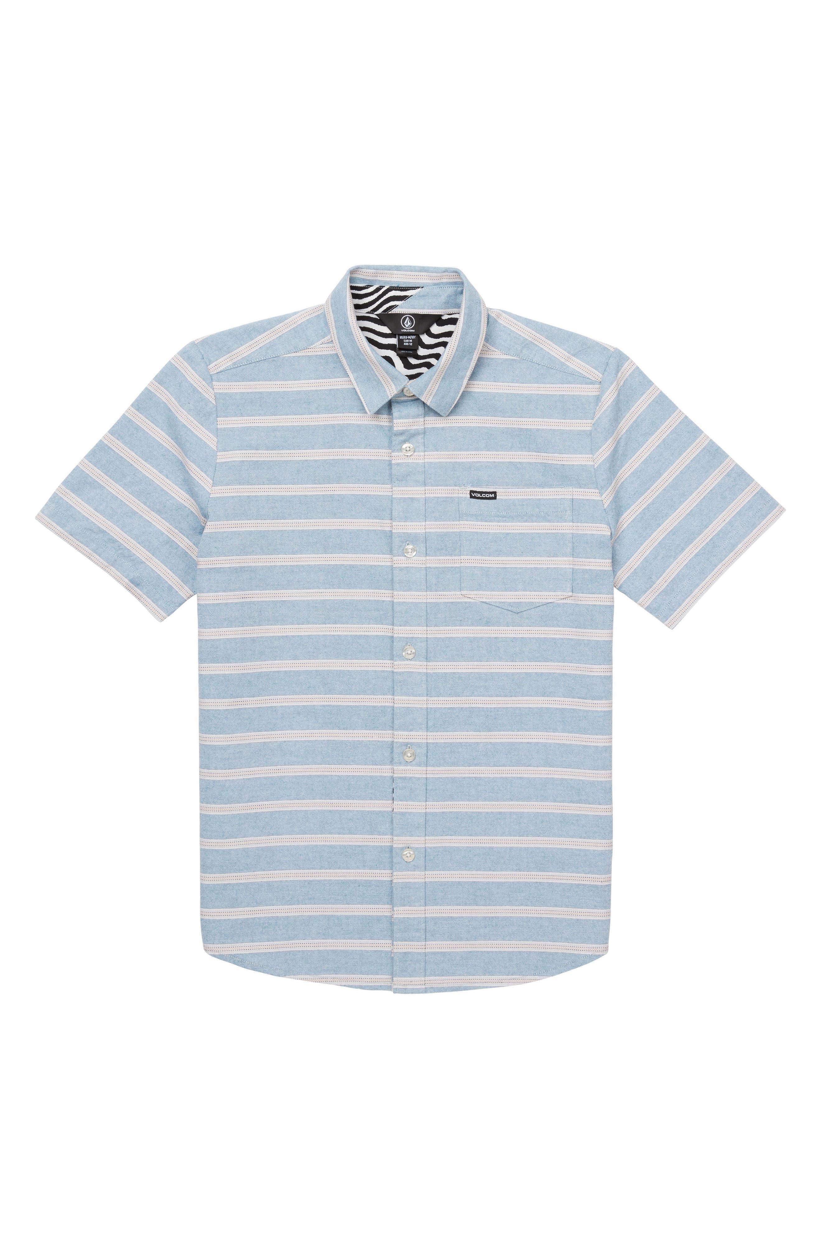 VOLCOM Branson Woven Shirt, Main, color, 439