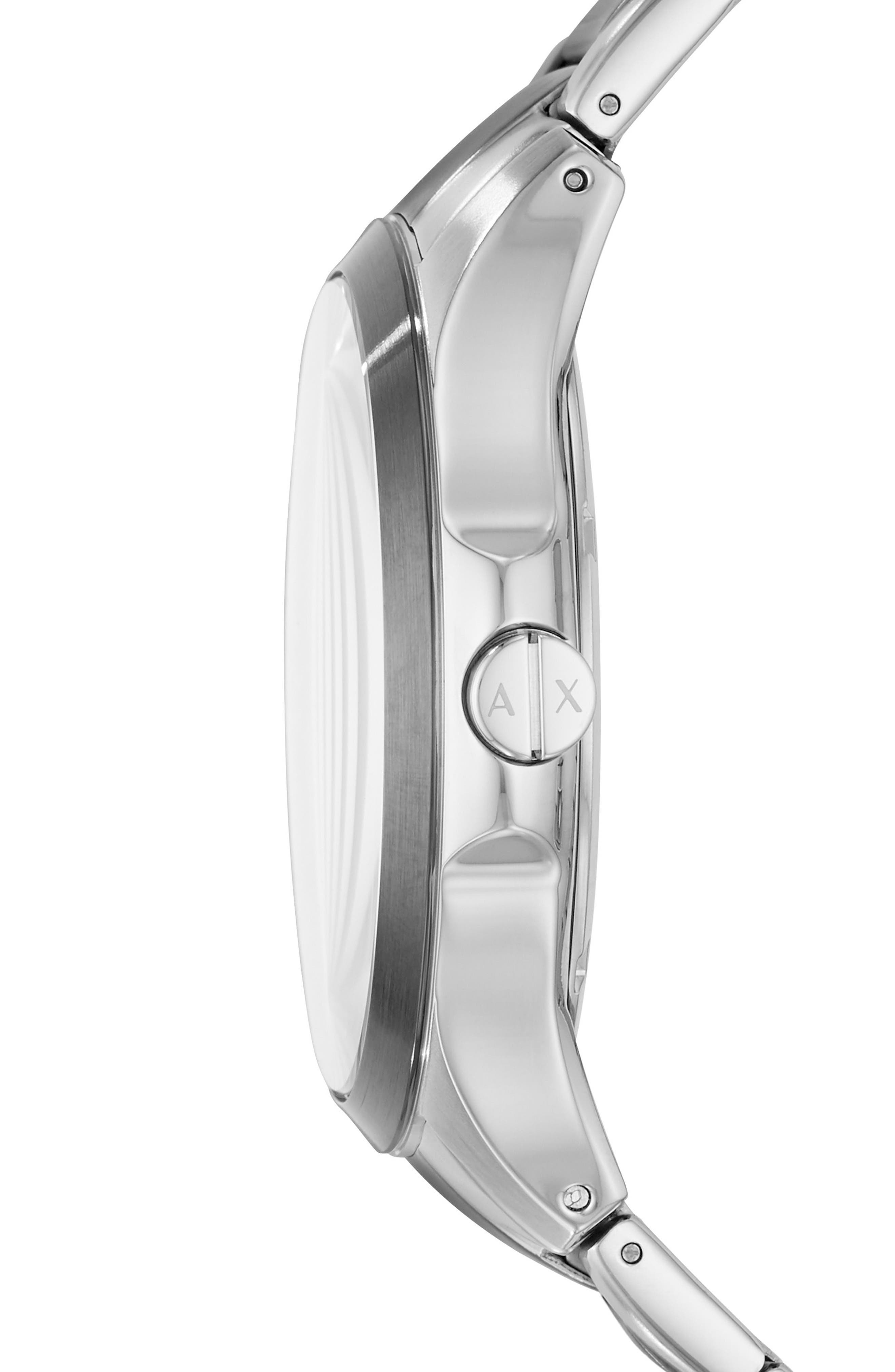 Two-Tone Bracelet Watch, 46mm,                             Alternate thumbnail 2, color,                             043