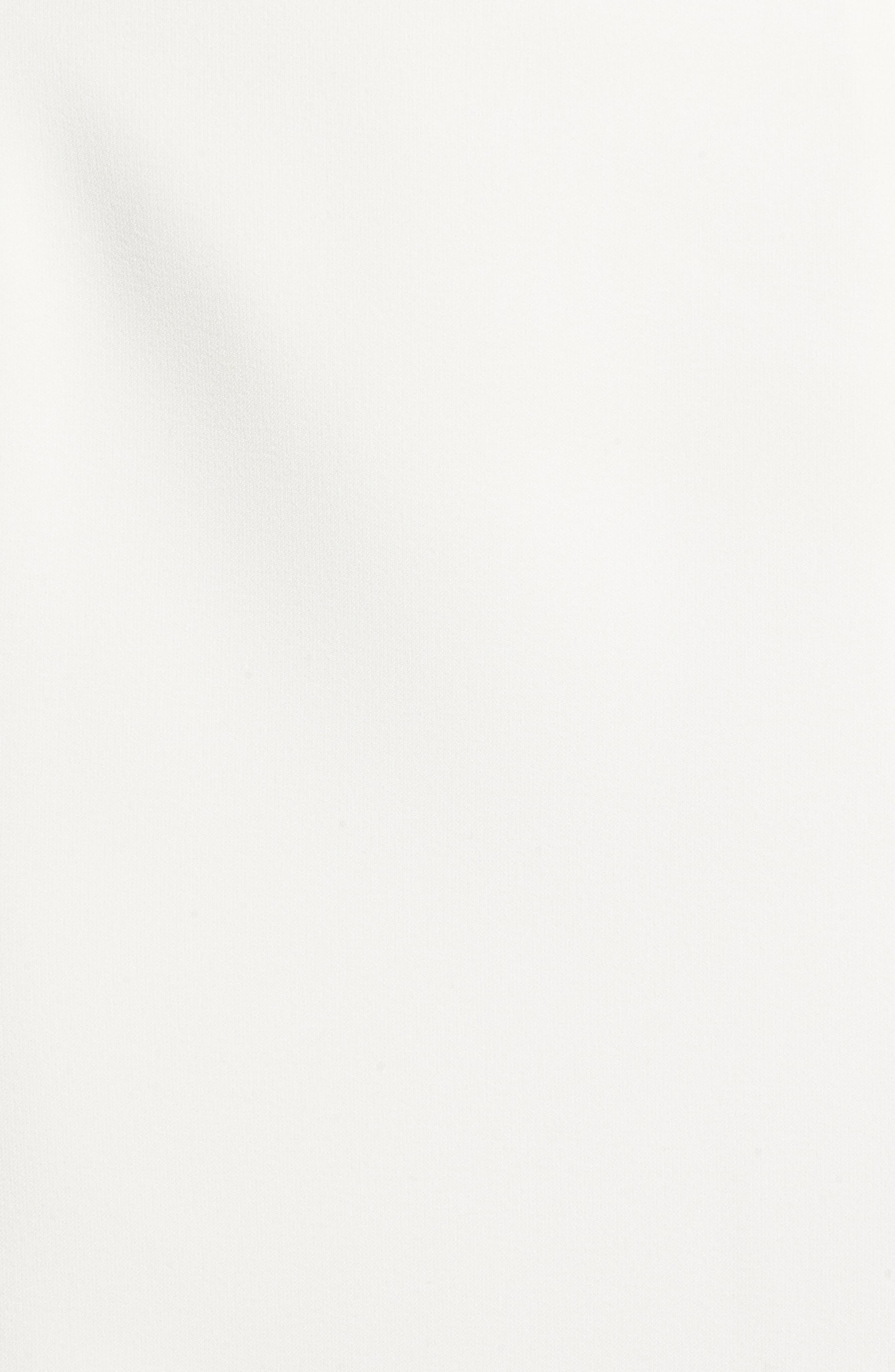 Brady Satin Midi Skirt,                             Alternate thumbnail 5, color,                             IVORY