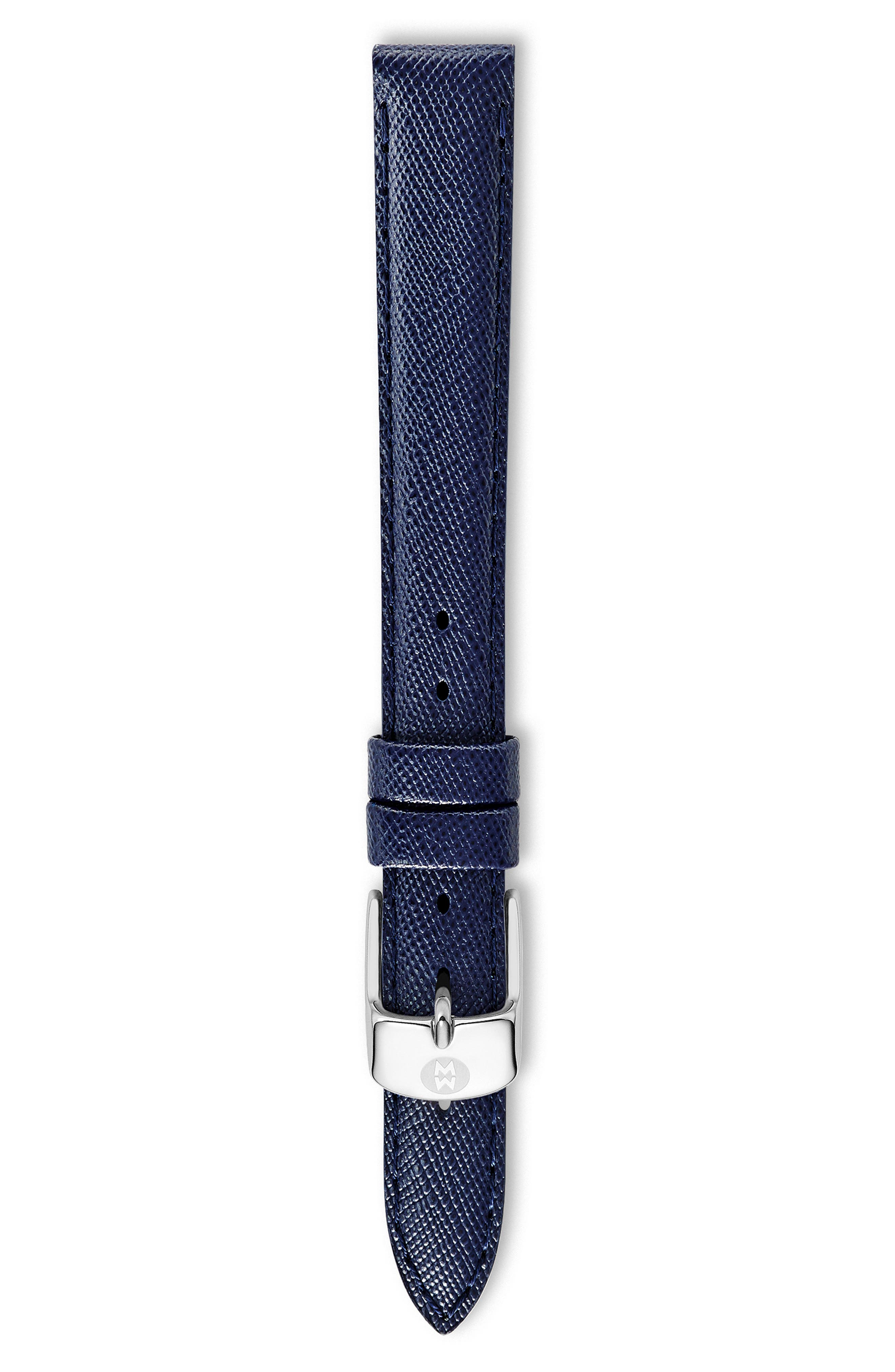 12mm Saffiano Leather Watch Strap,                             Alternate thumbnail 2, color,                             410