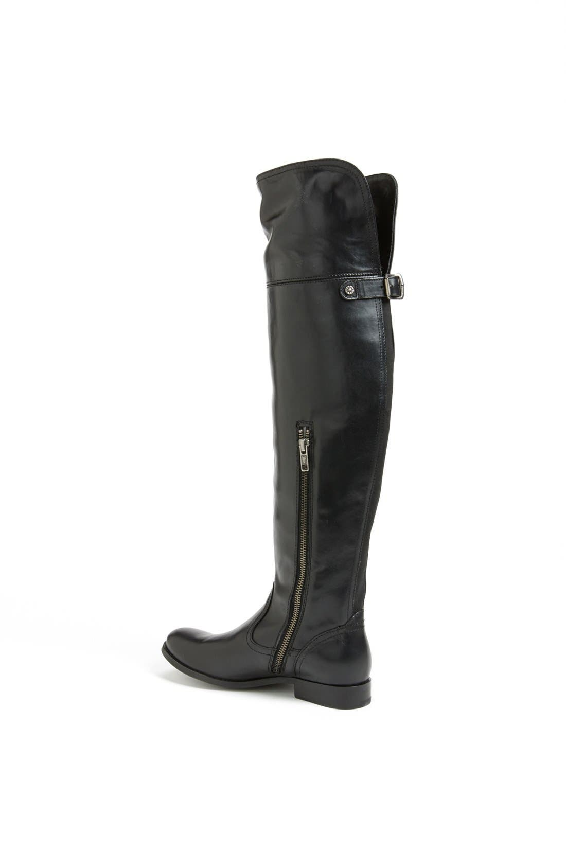 'Melissa' Over the Knee Boot,                             Alternate thumbnail 6, color,                             001