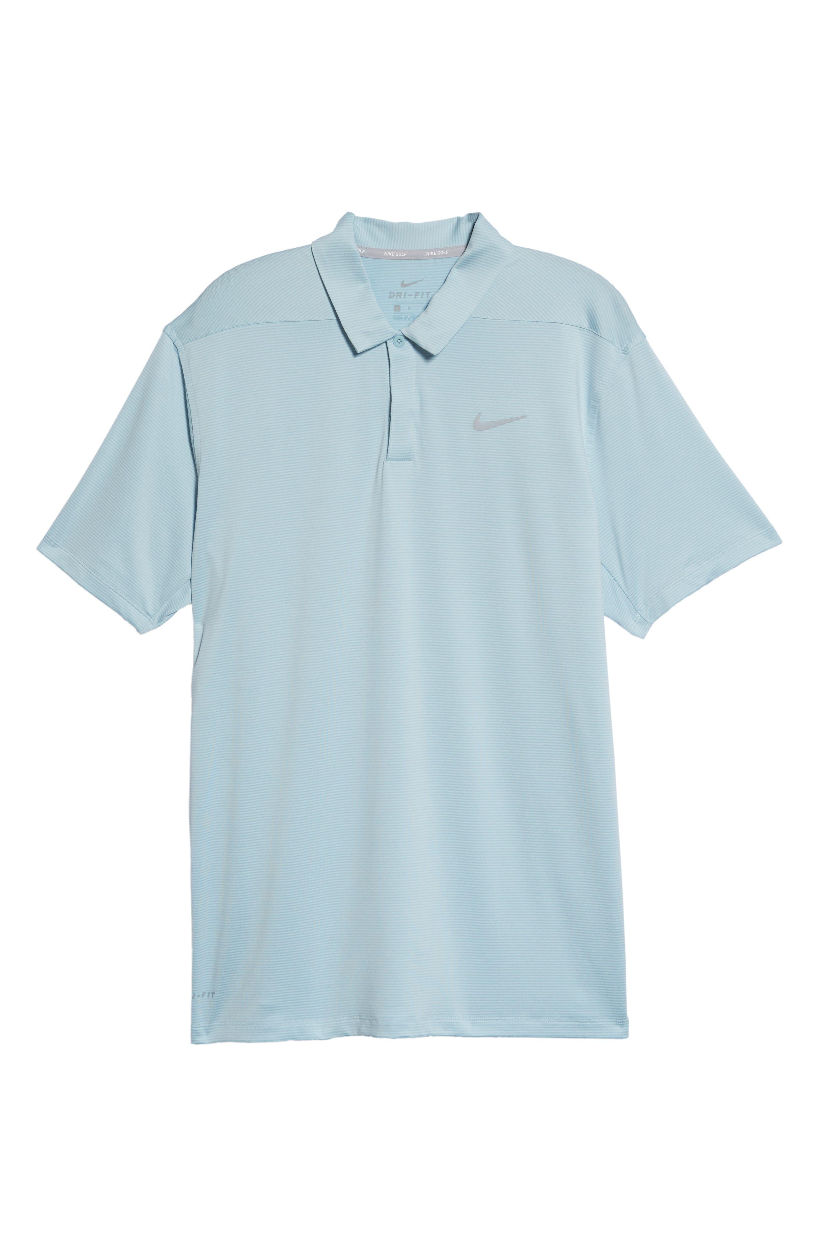Dry Polo Shirt,                             Alternate thumbnail 6, color,                             OCEAN BLISS/ SILVER