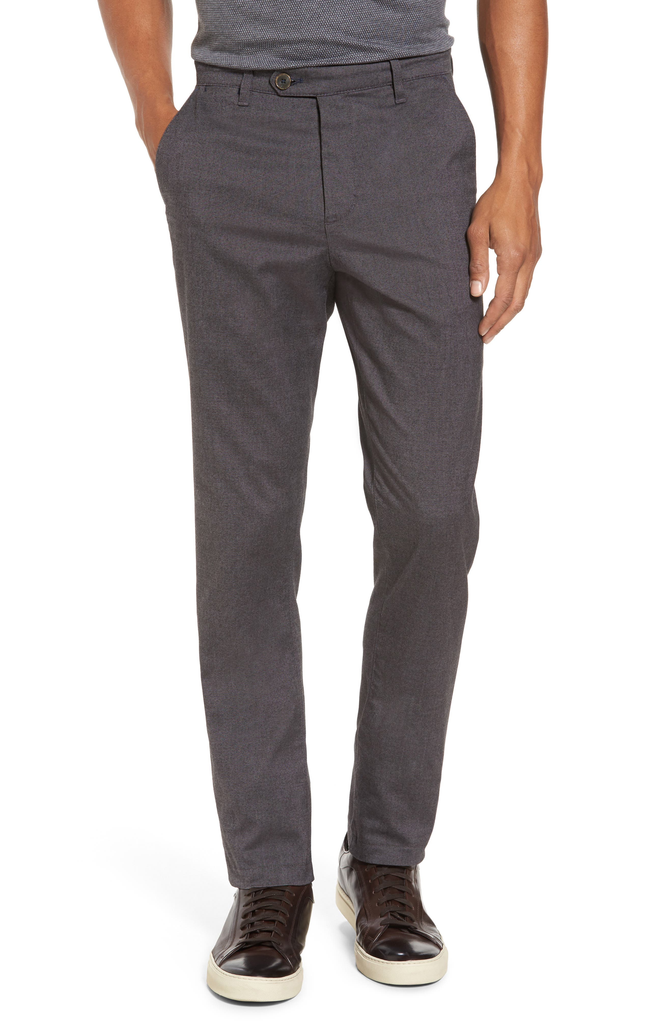 Modern Slim Fit Trousers,                         Main,                         color, 010