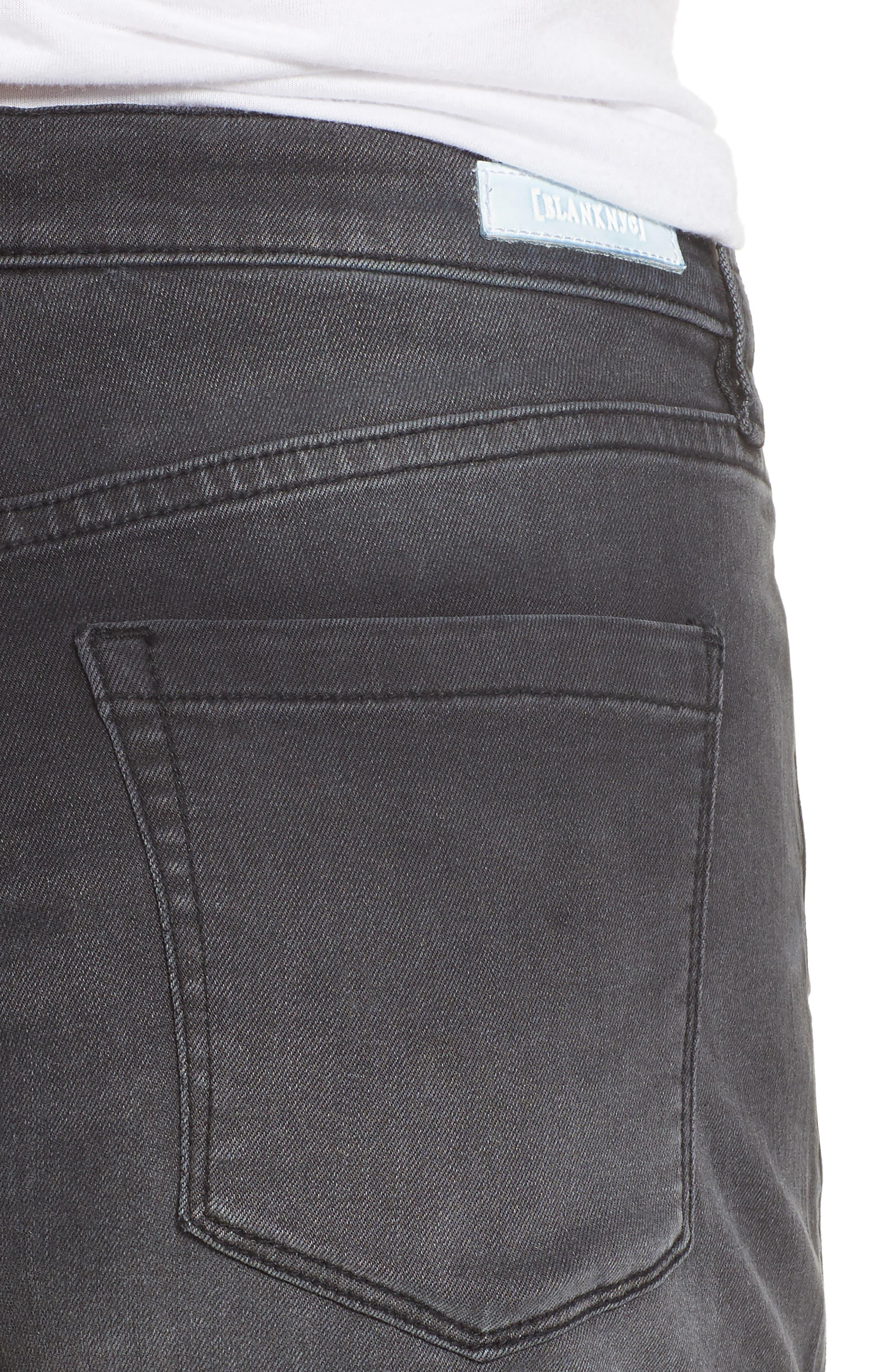 The Fulton Cuff Hem Denim Shorts,                             Alternate thumbnail 4, color,                             001