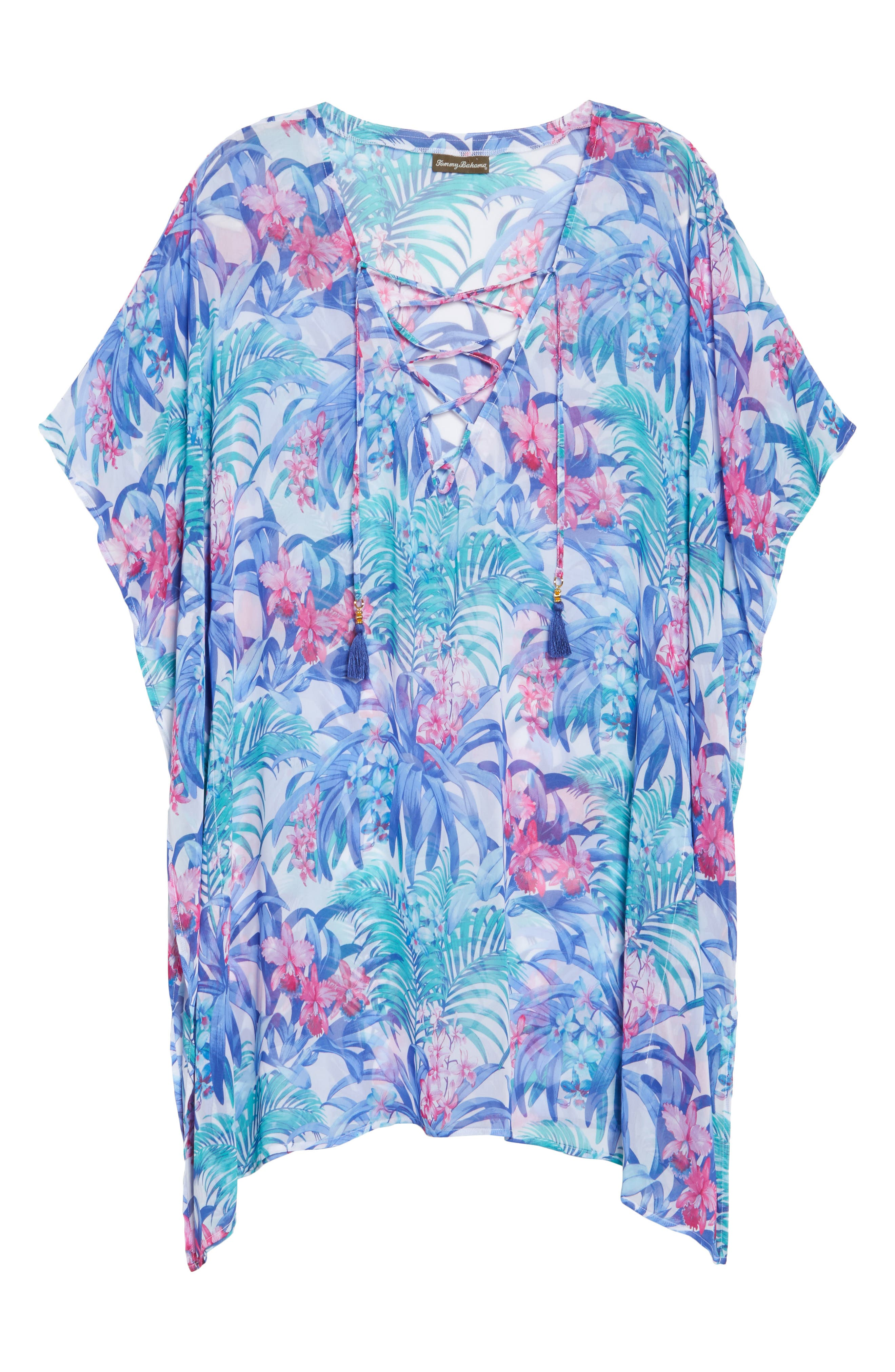 Majorelle Cover-Up Tunic,                             Alternate thumbnail 6, color,                             100