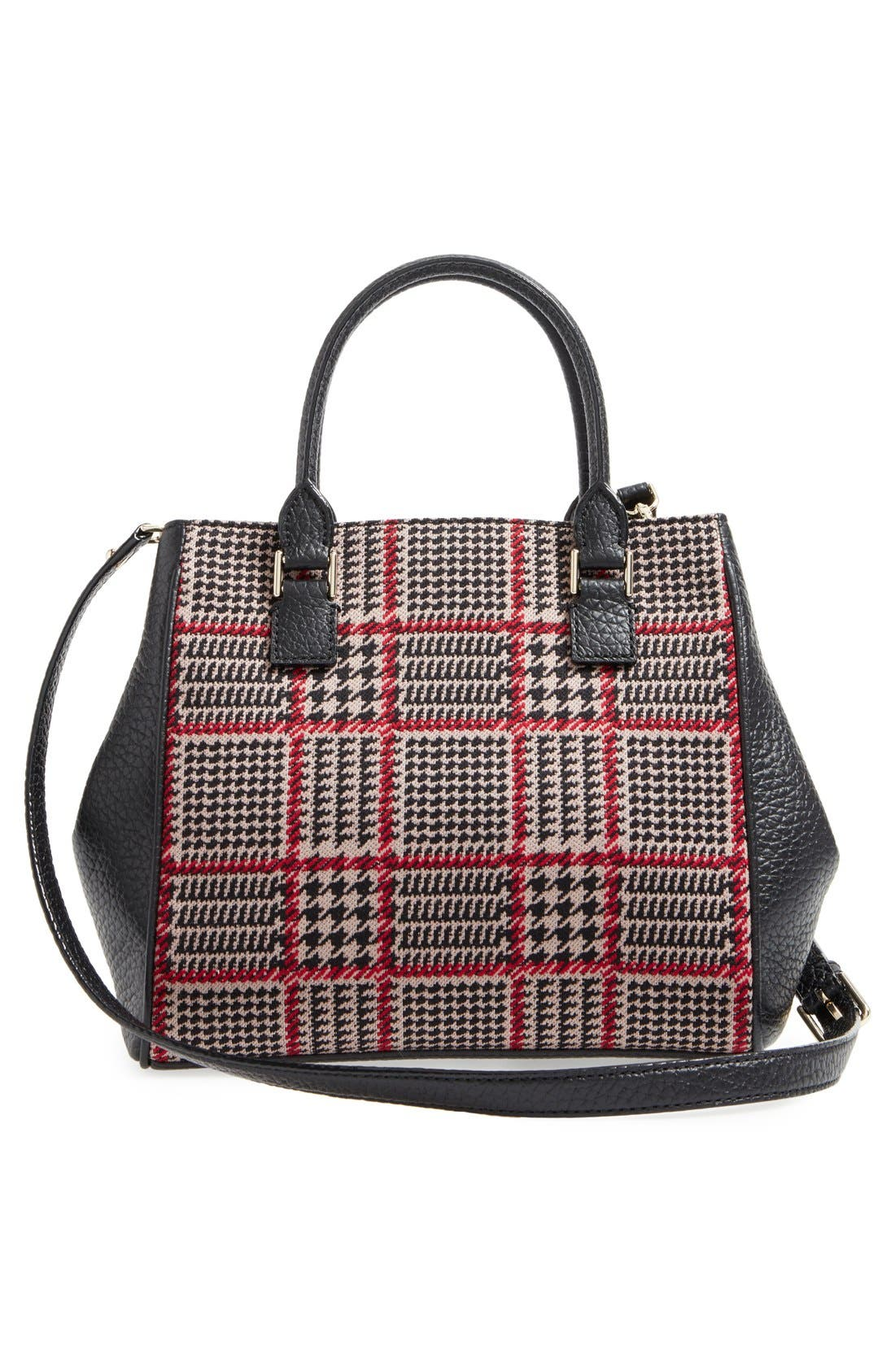 prospect place maddie houndstooth satchel,                             Alternate thumbnail 5, color,                             206