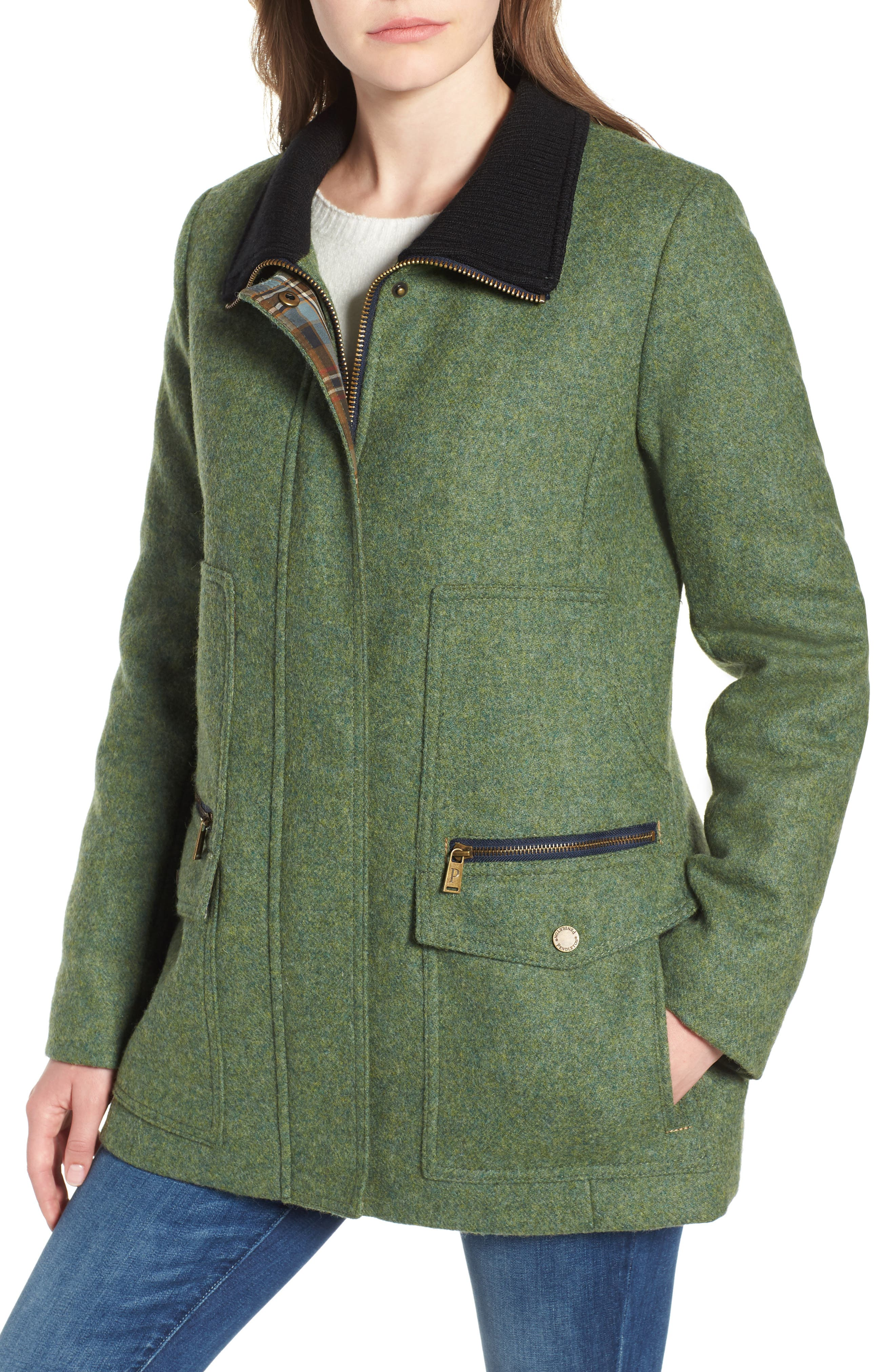 Timberline Field Coat,                             Alternate thumbnail 4, color,                             MOSS
