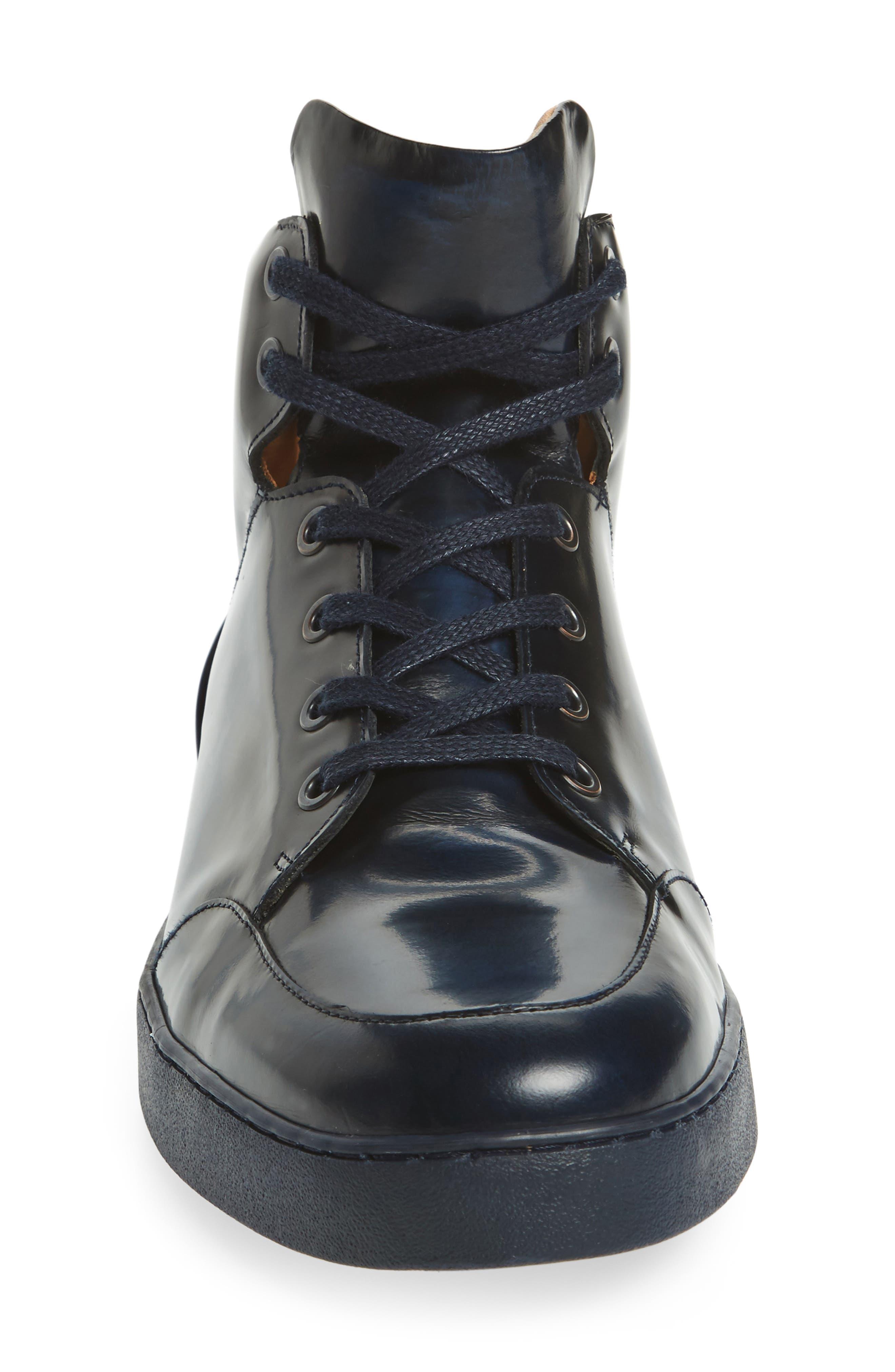 Gidean High Top Sneaker,                             Alternate thumbnail 6, color,