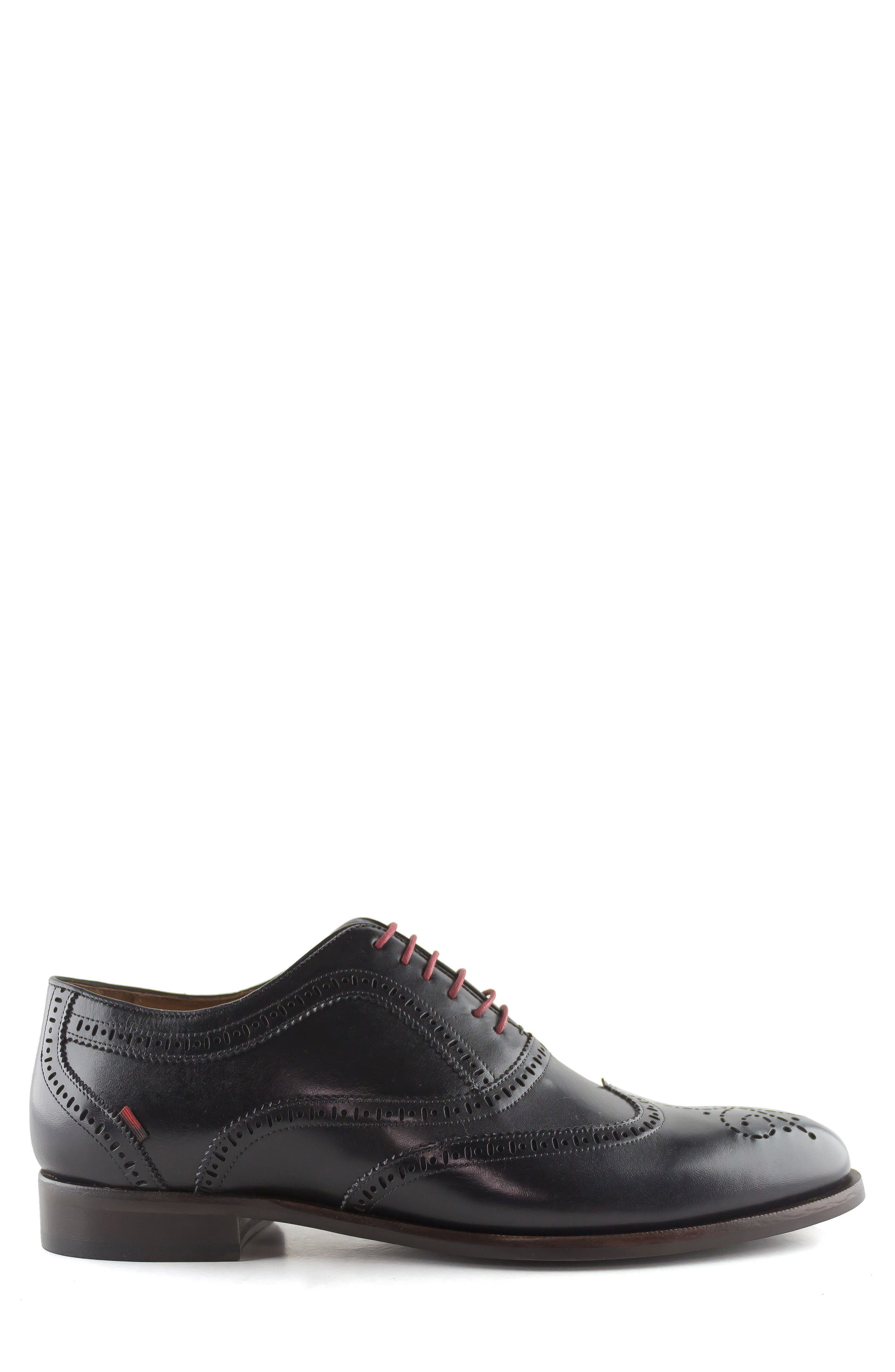 Madison Wingtip Oxford,                             Alternate thumbnail 3, color,                             BLACK