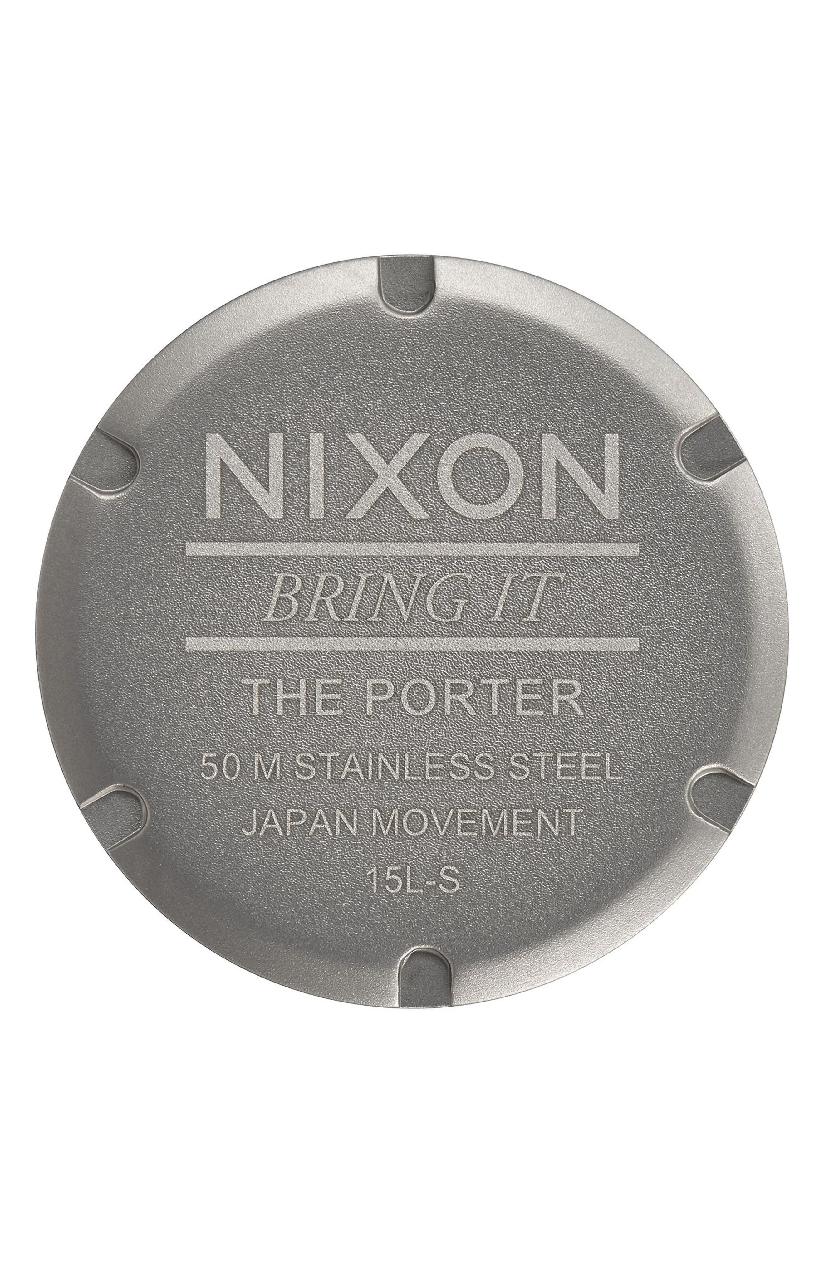 Porter Nylon Strap Watch, 40mm,                             Alternate thumbnail 20, color,